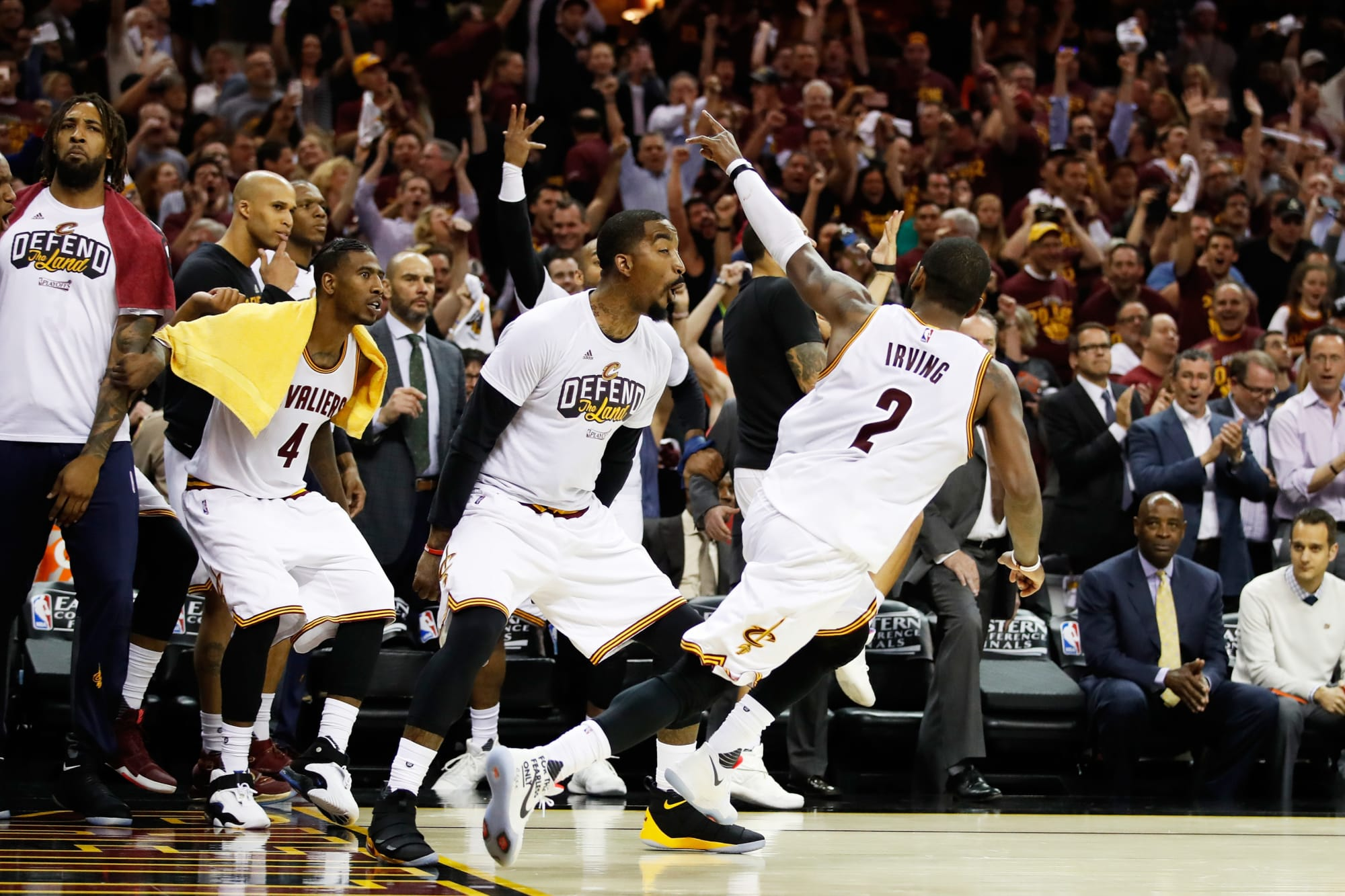 This May 23 date leads to flashback to Kyrie Irving's 42 for Cavs vs. C's
