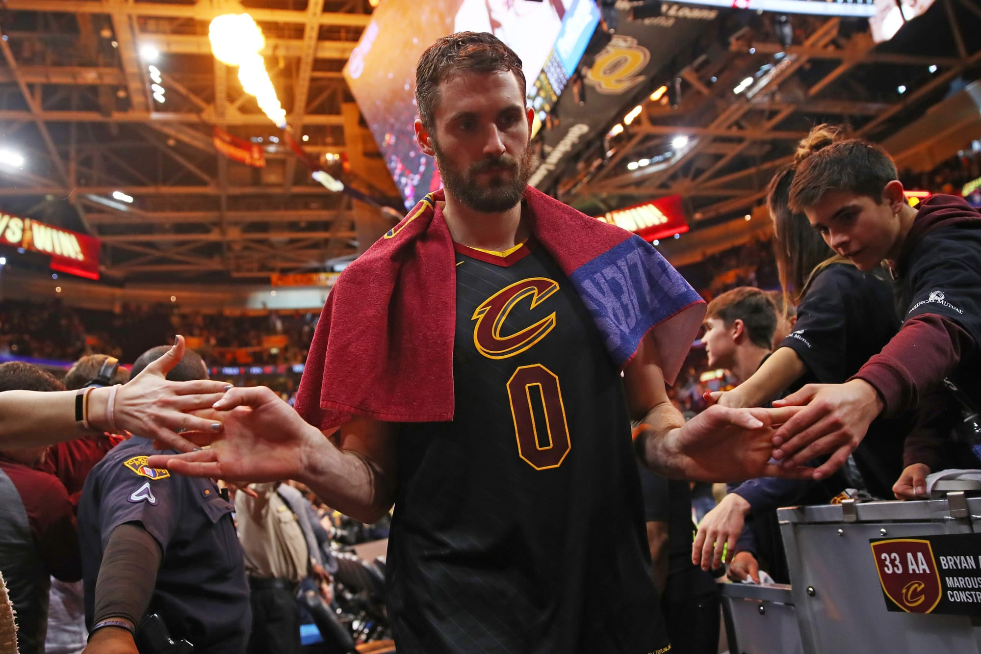 Cleveland Cavaliers: Kevin Love has been taken for granted