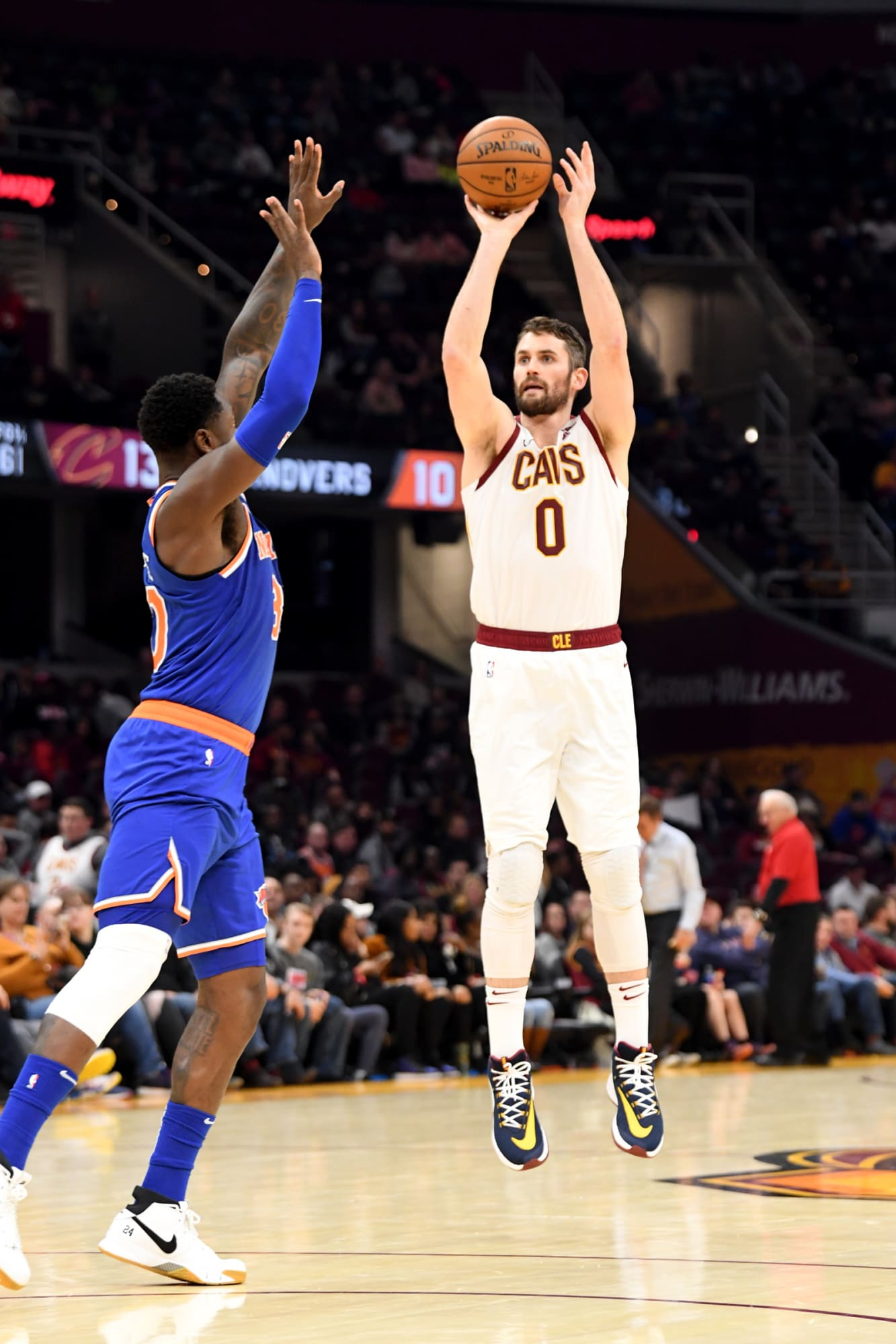 Kevin Love's primary role is being Cavs' best off-the-catch shooter still