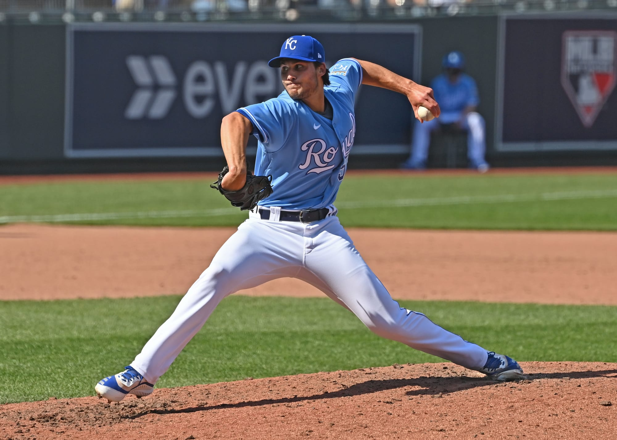KC Royals reliever Jake Brentz is leaving an early impression