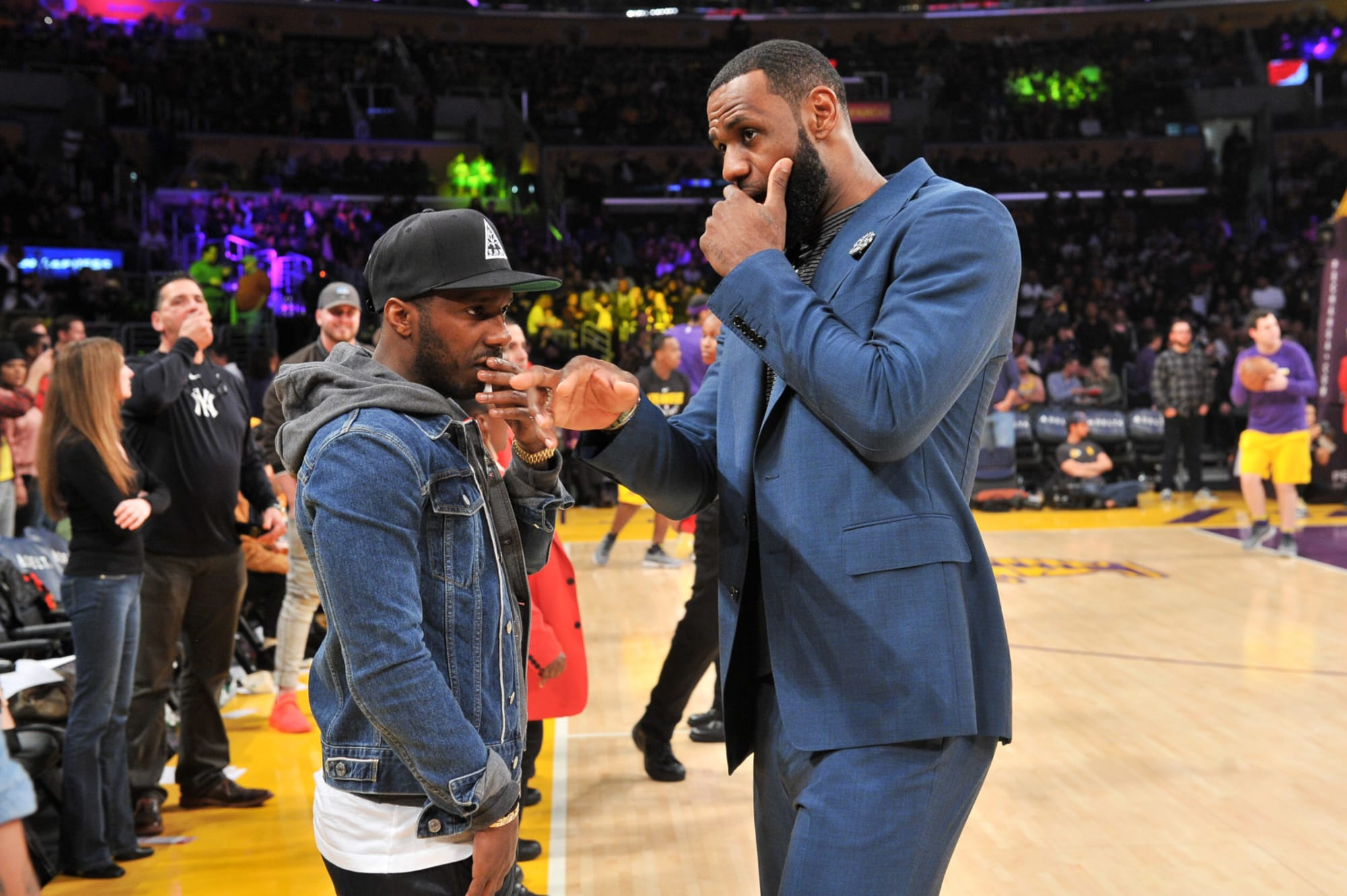 LeBron James speaks out at the NCAA