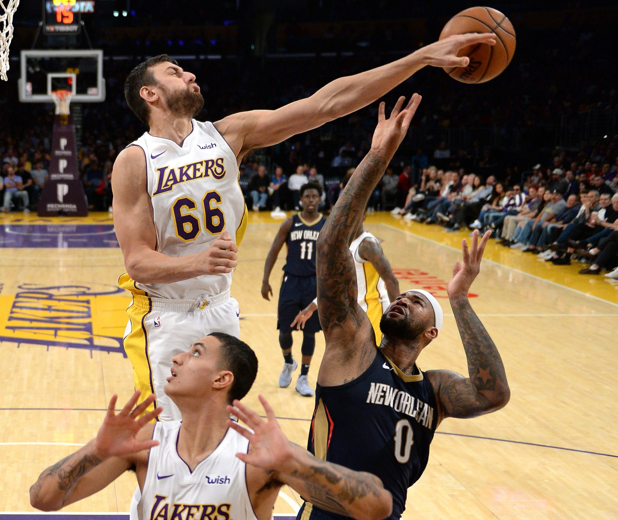 Los Angeles Lakers 3 Standouts Vs New Orleans Pelicans
