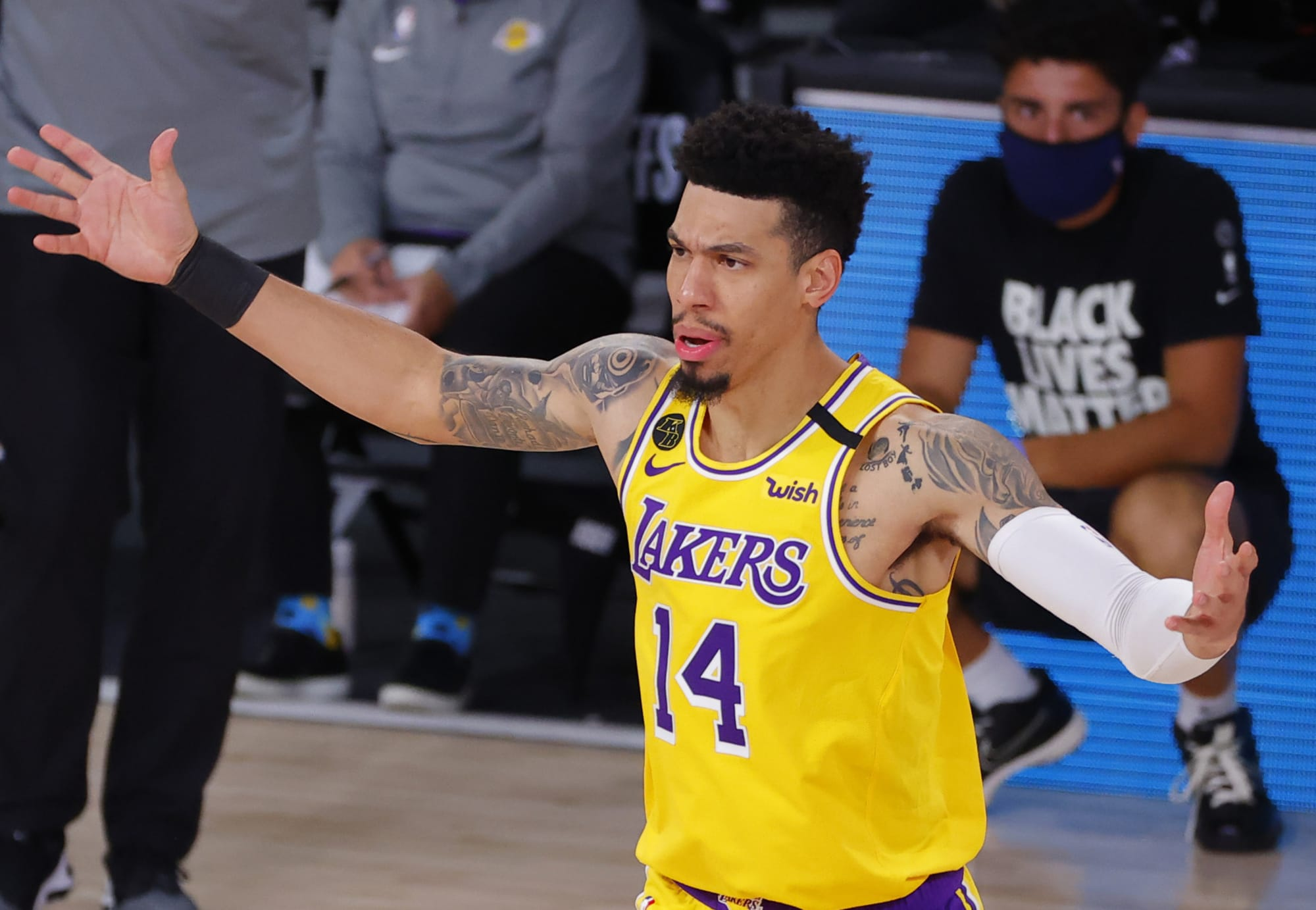 Los Angeles Lakers Time For Danny Green To Live Up To His Contract