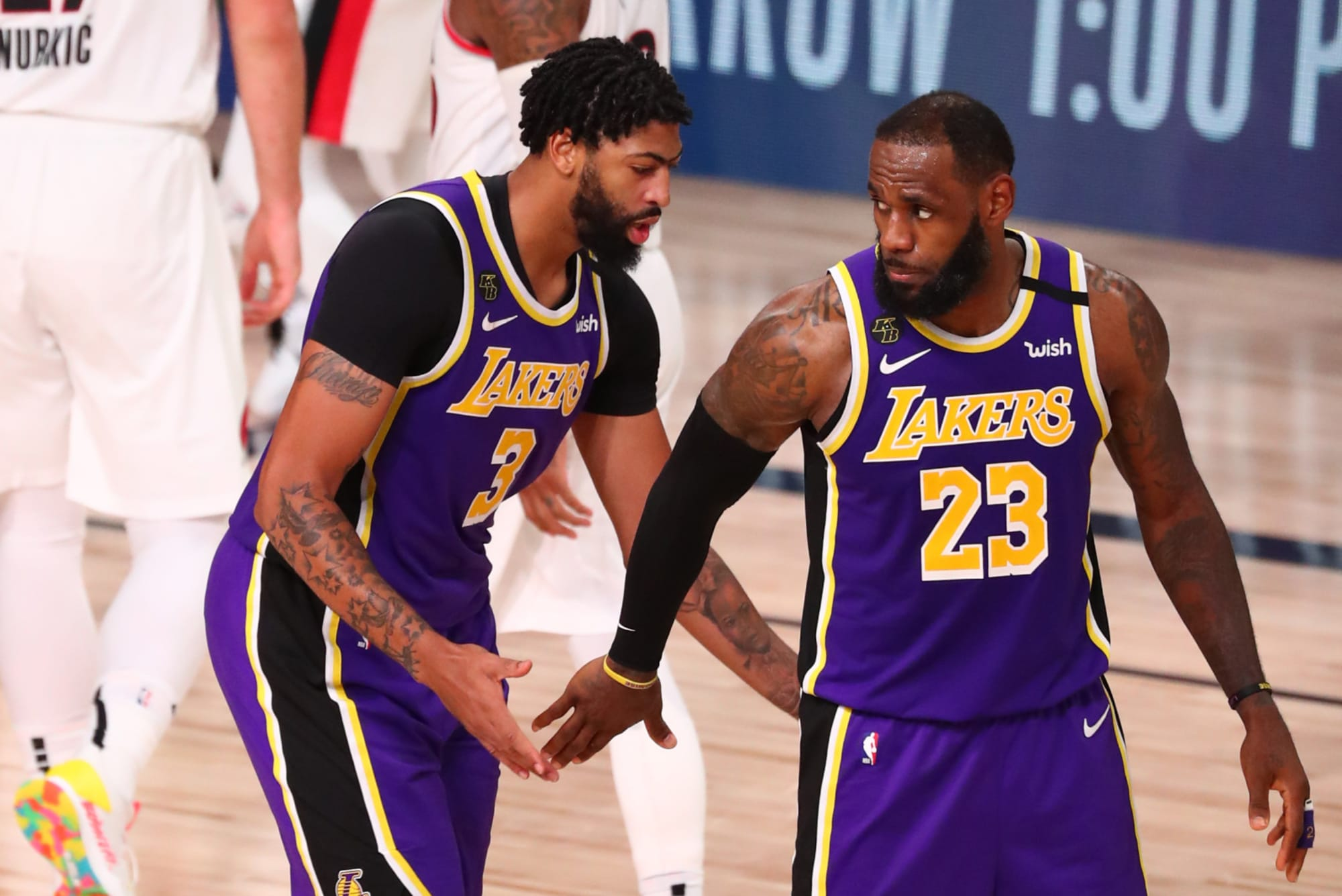 Los Angeles Lakers Playoff Preview Vs Houston Rockets