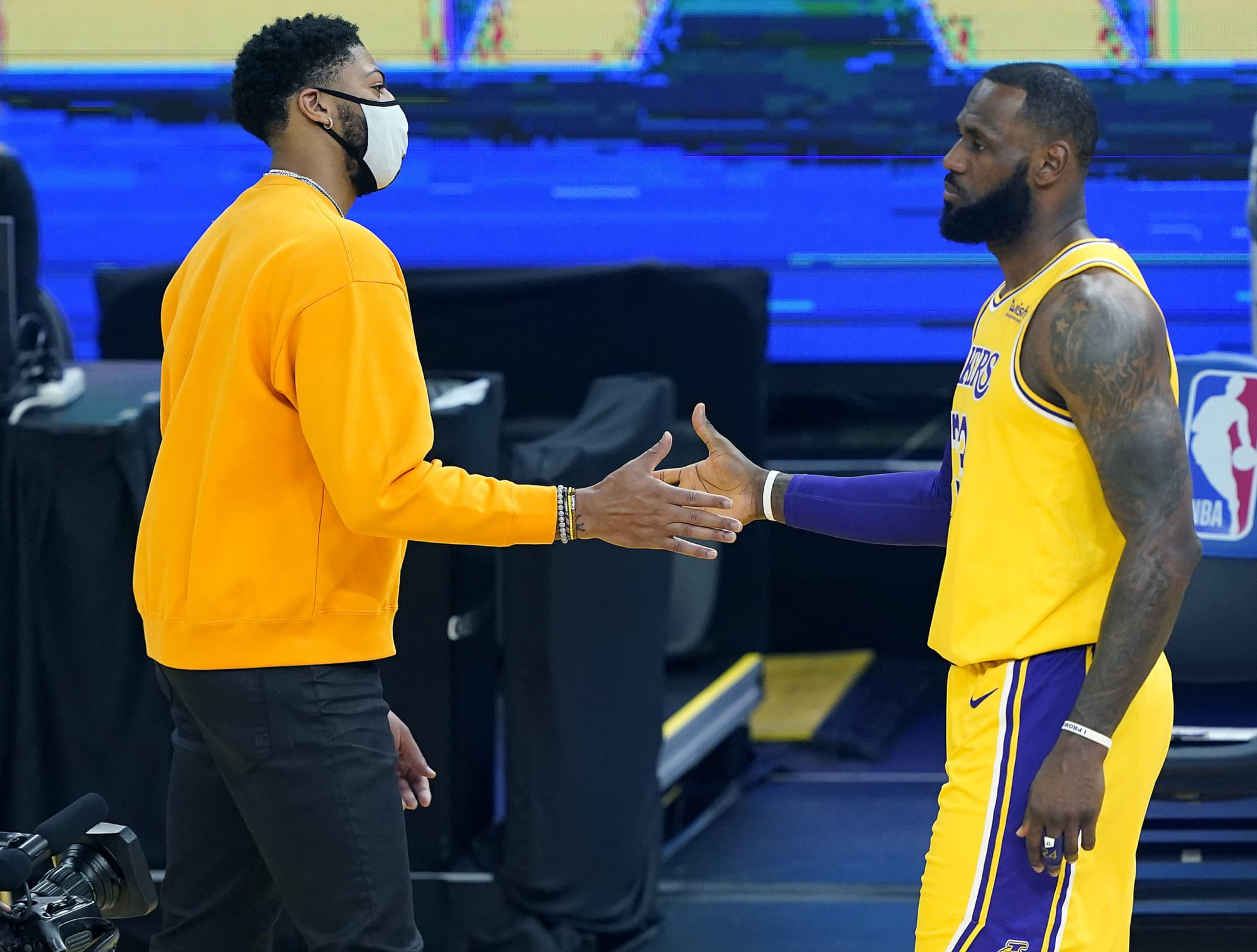 What the Los Angeles Lakers' playoff starting five should be