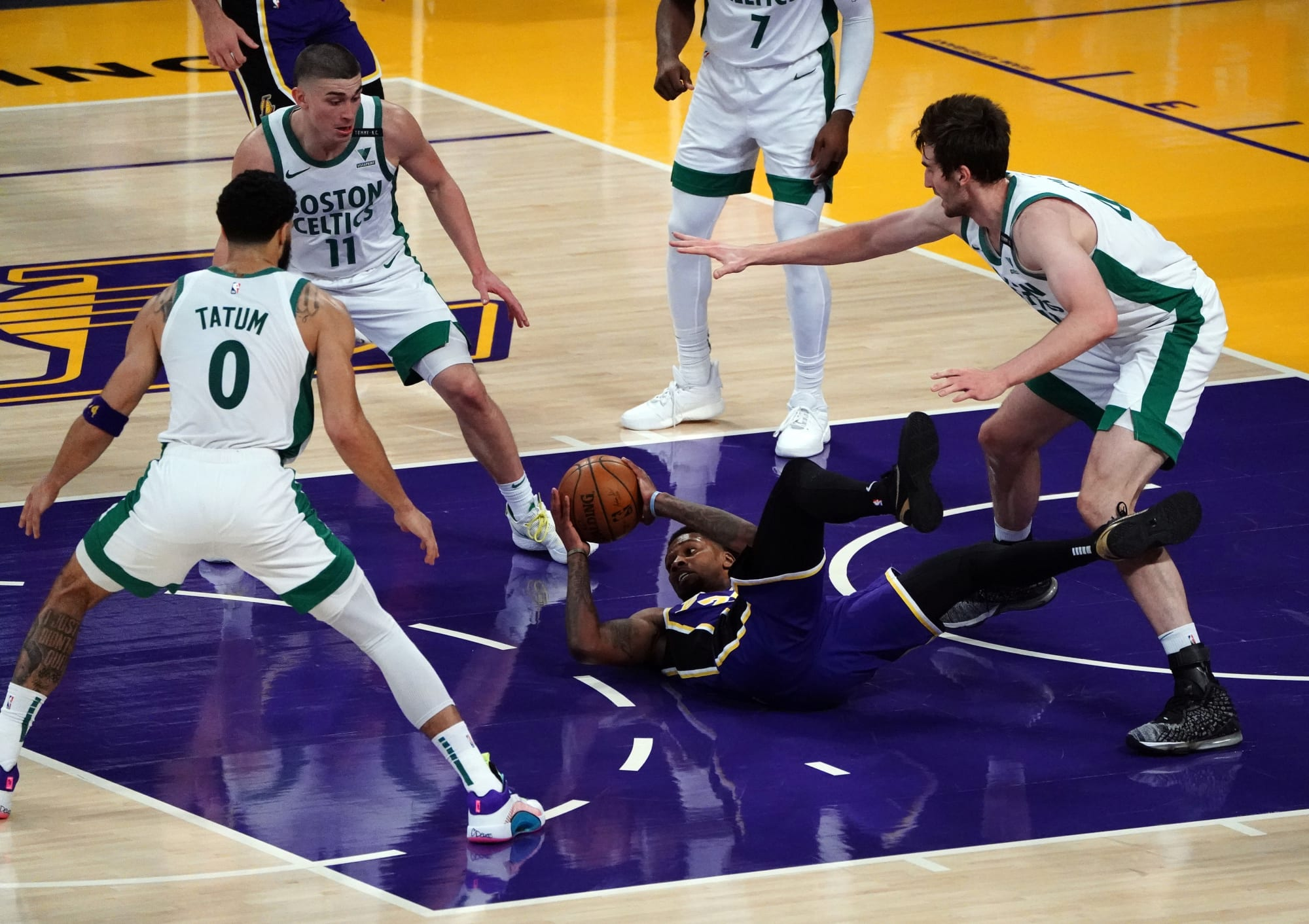 Los Angeles Lakers: 4 Lessons from celebrating fans in loss to Celtics