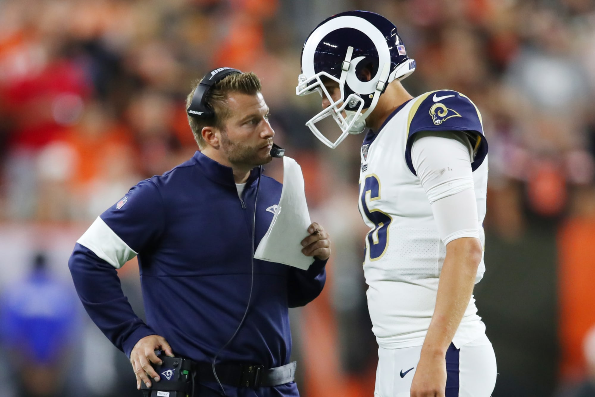 Los Angeles Rams It S Time To Admit That Jared Goff Is The Problem