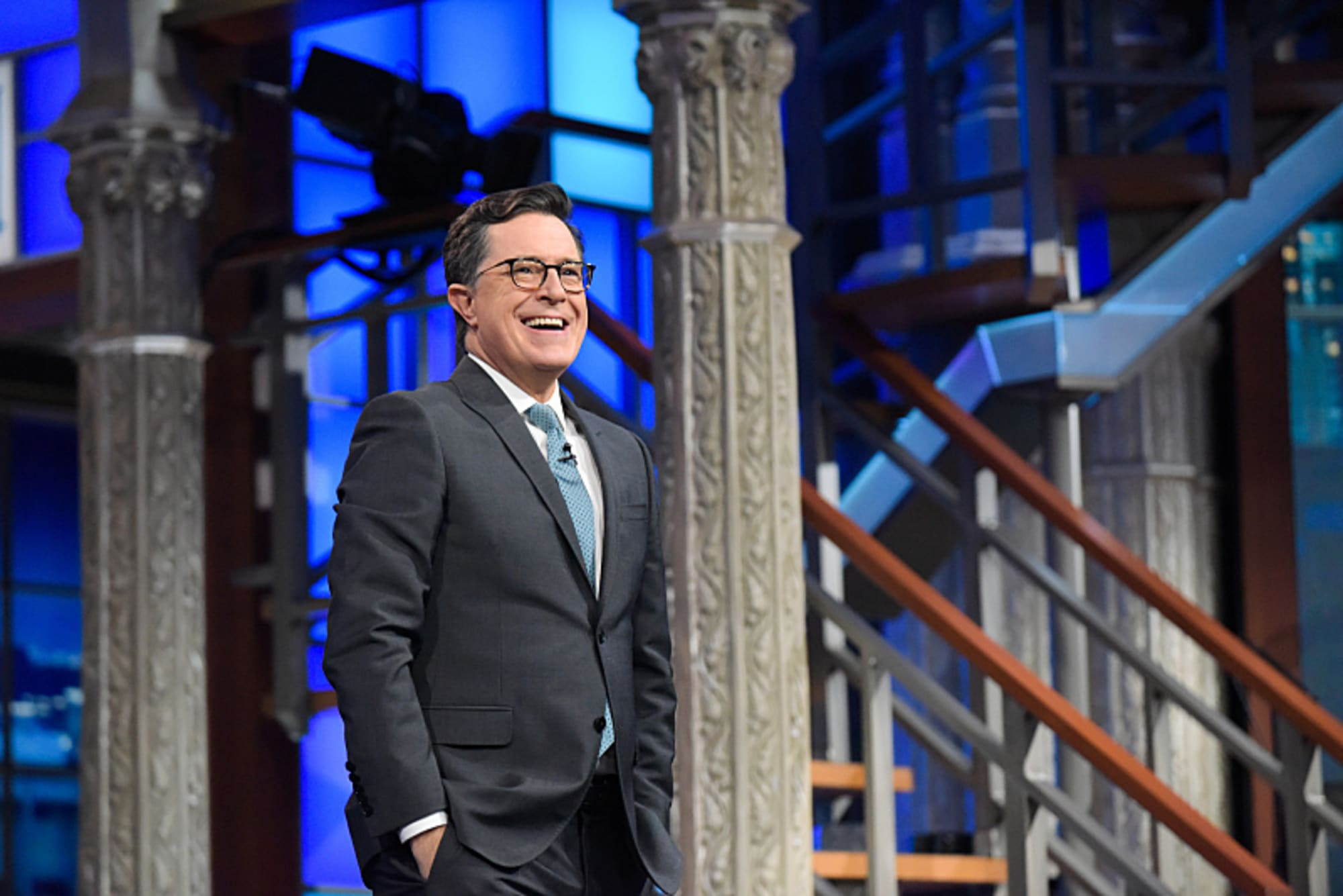 The Late Show with Stephen Colbert returns tonight with a new look