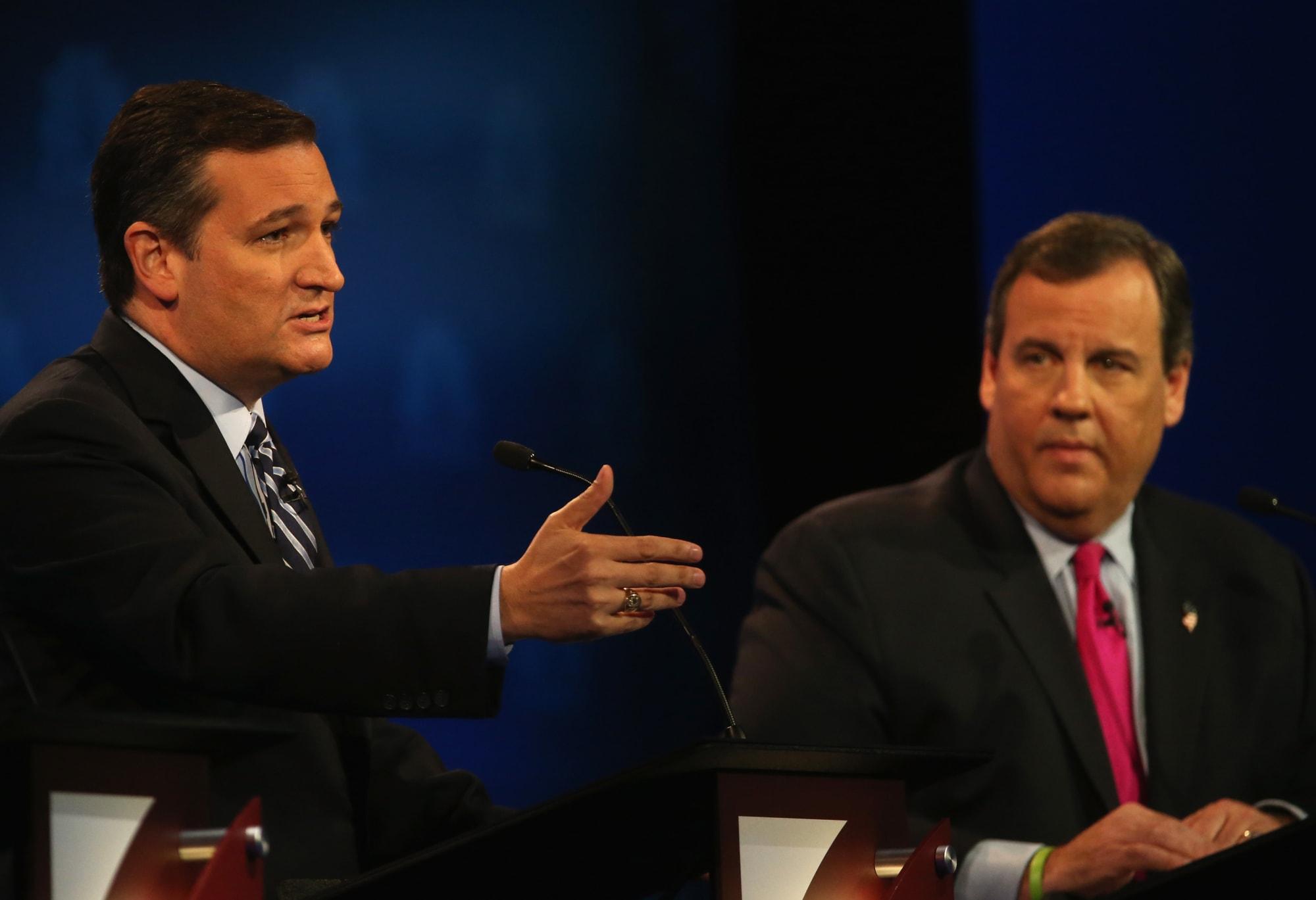 Stephen Colbert dismisses Ted Cruz, Chris Christie for Biden criticism