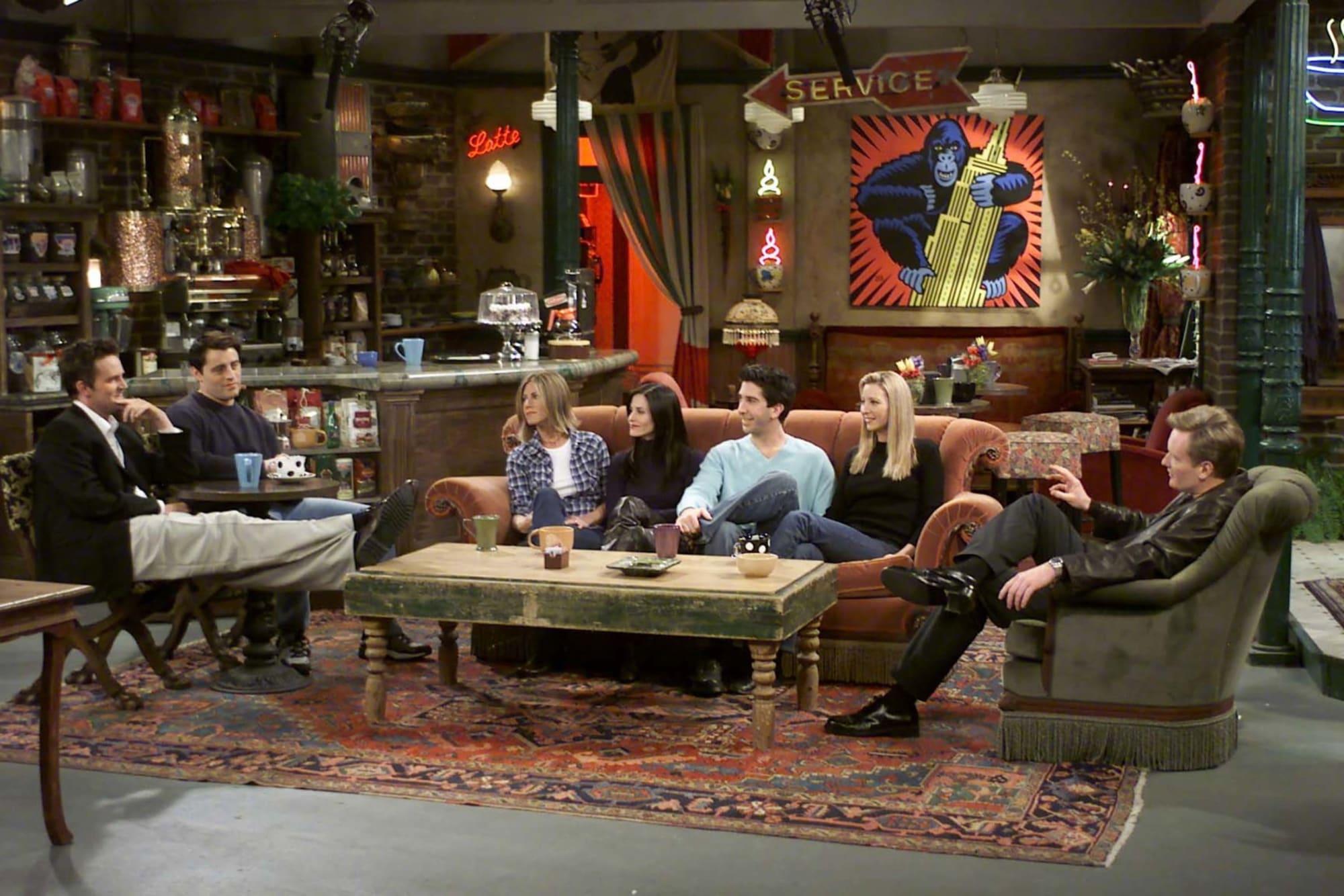 The Friends reunion gets an update from Lisa Kudrow