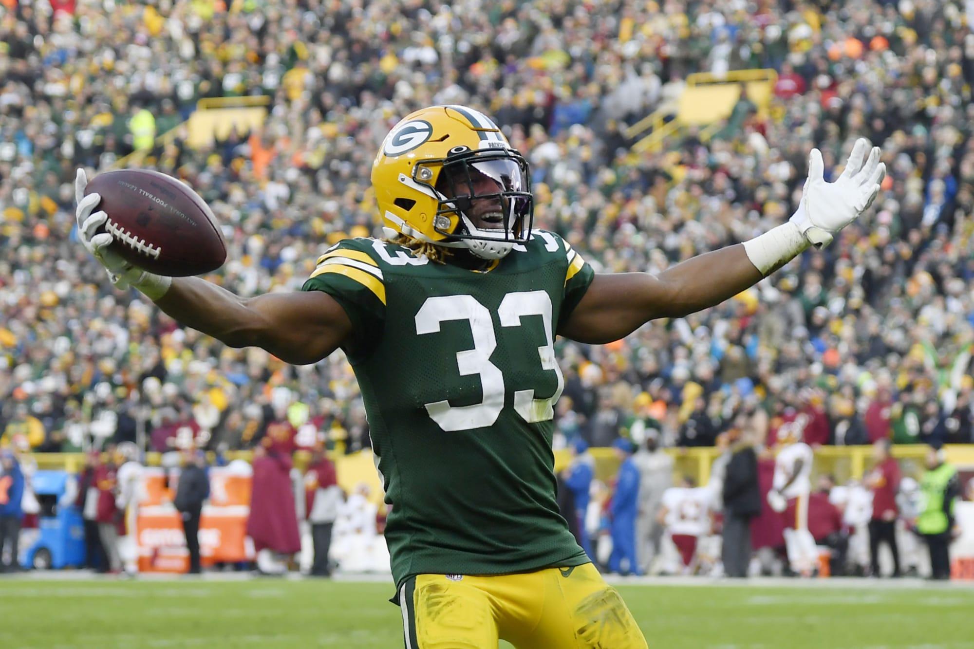 Packers Positives And Negatives Aaron Jones Impressive Vs Redskins