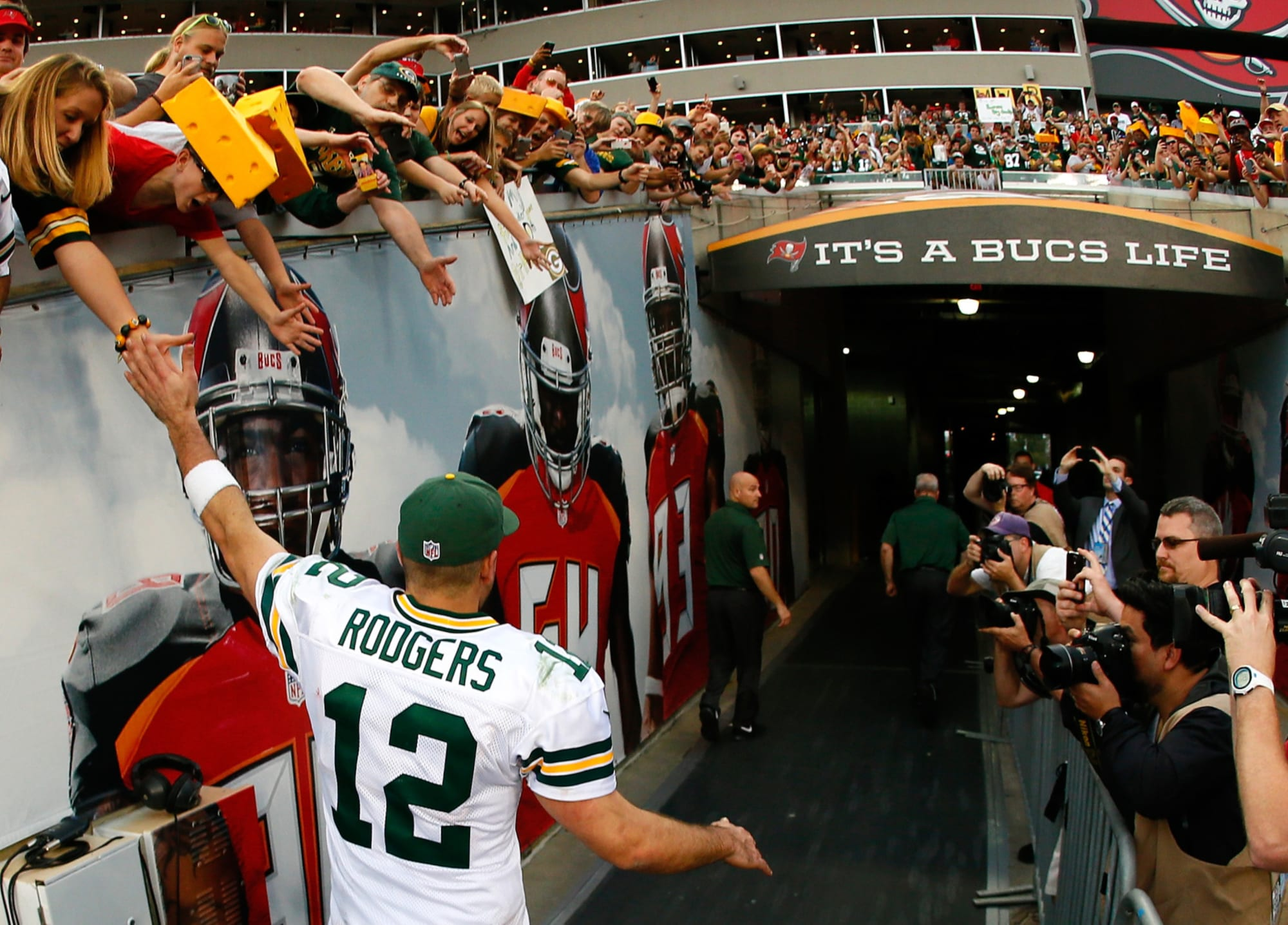 Packers: Fans will be in attendance for road game against Bucs