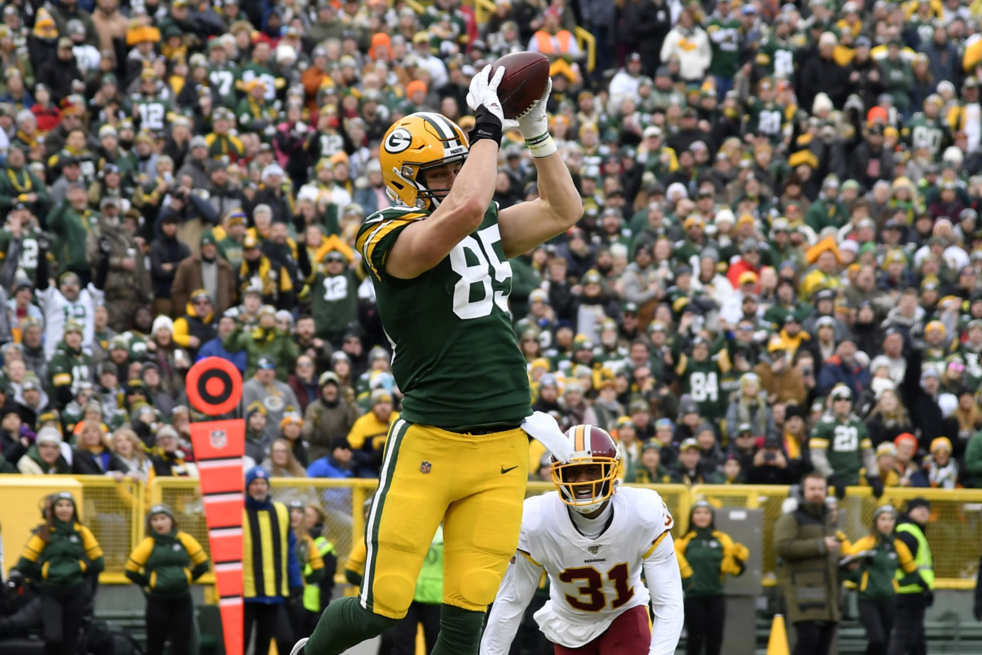 Packers Robert Tonyan Dealt With Injury For Much Of 2019 Season