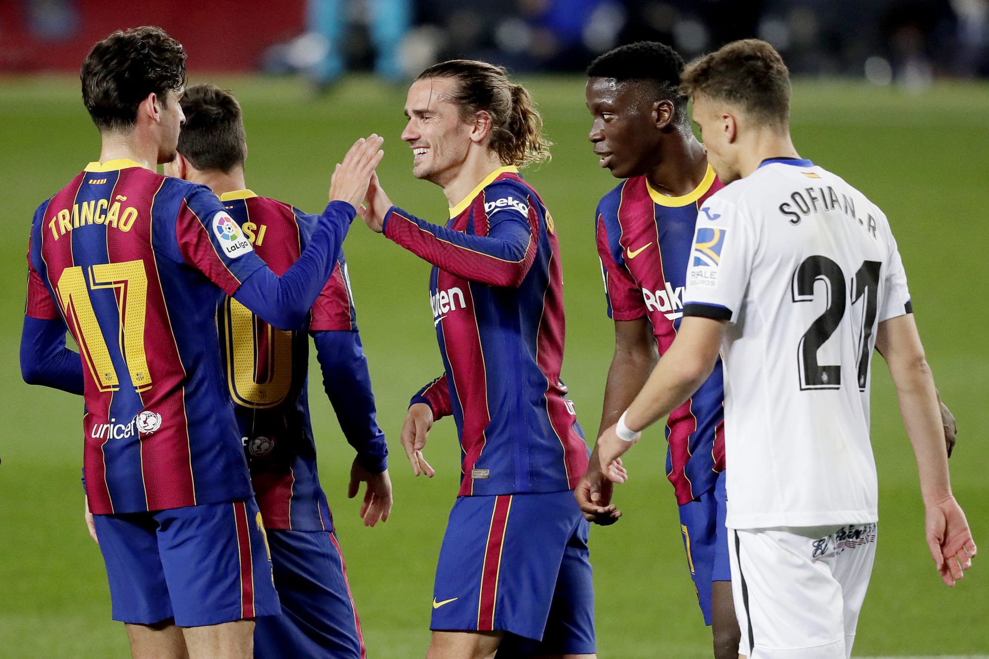 Manchester City will 'push hard' to sign Barcelona youngster this summer