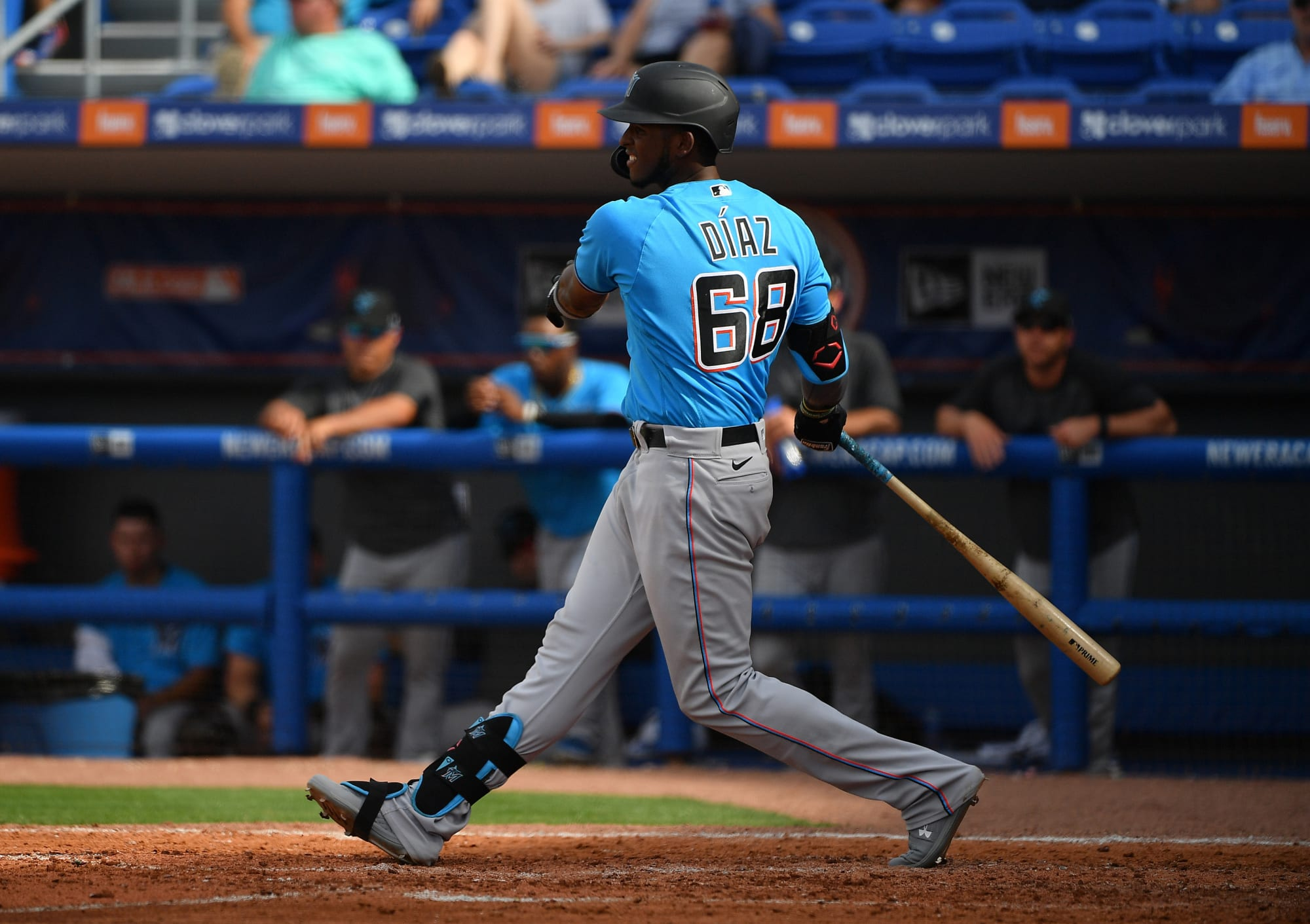 How do the Miami Marlins use their top prospects in 2020?