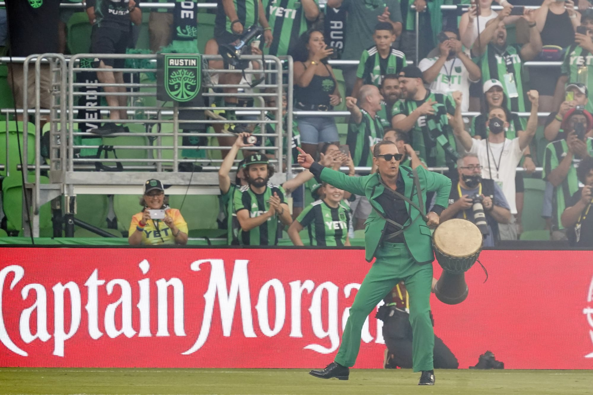 Austin FC, led by Matthew McConaughey, are creating something special