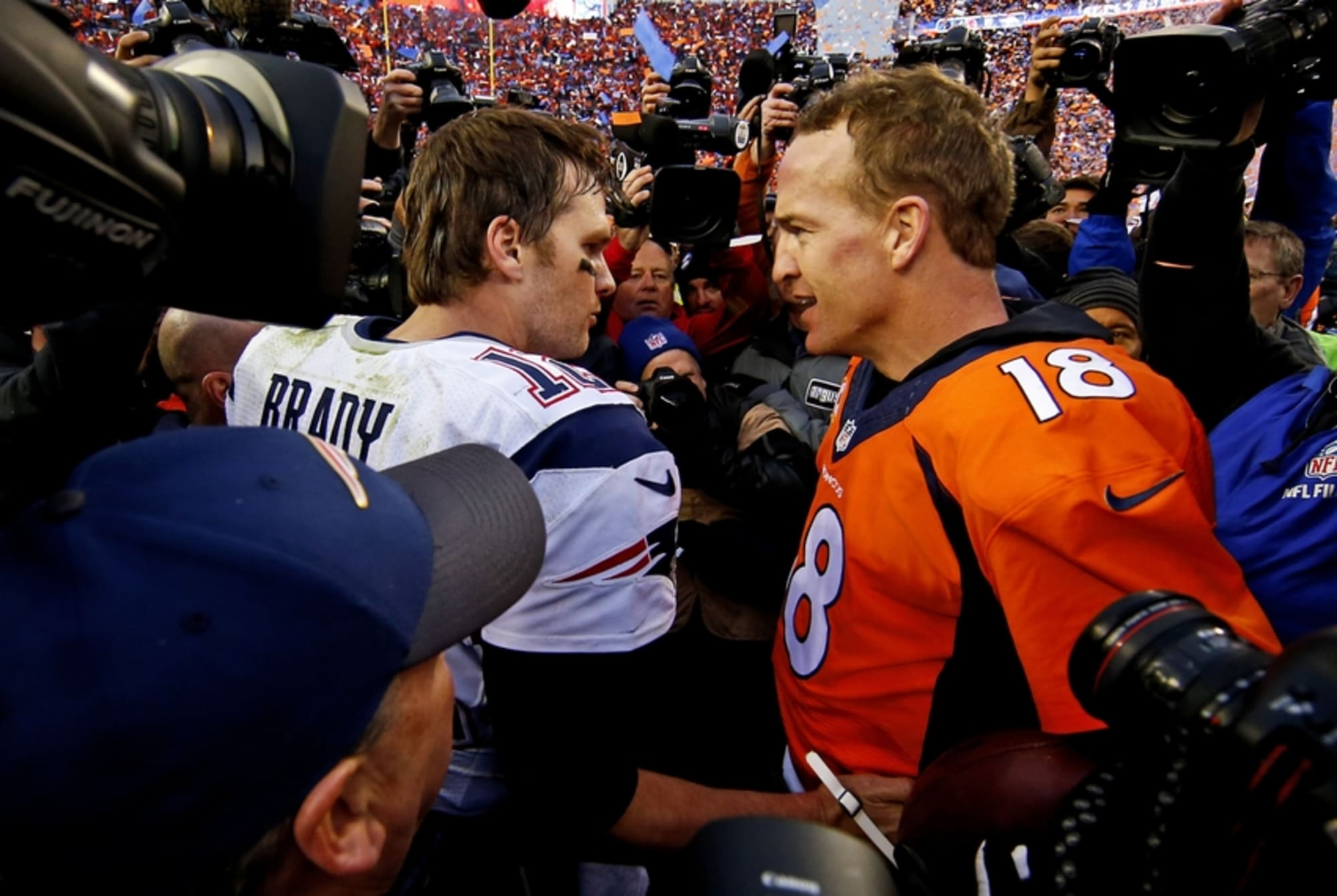 New England Patriots: Tom Brady Catches Up with Peyton Manning
