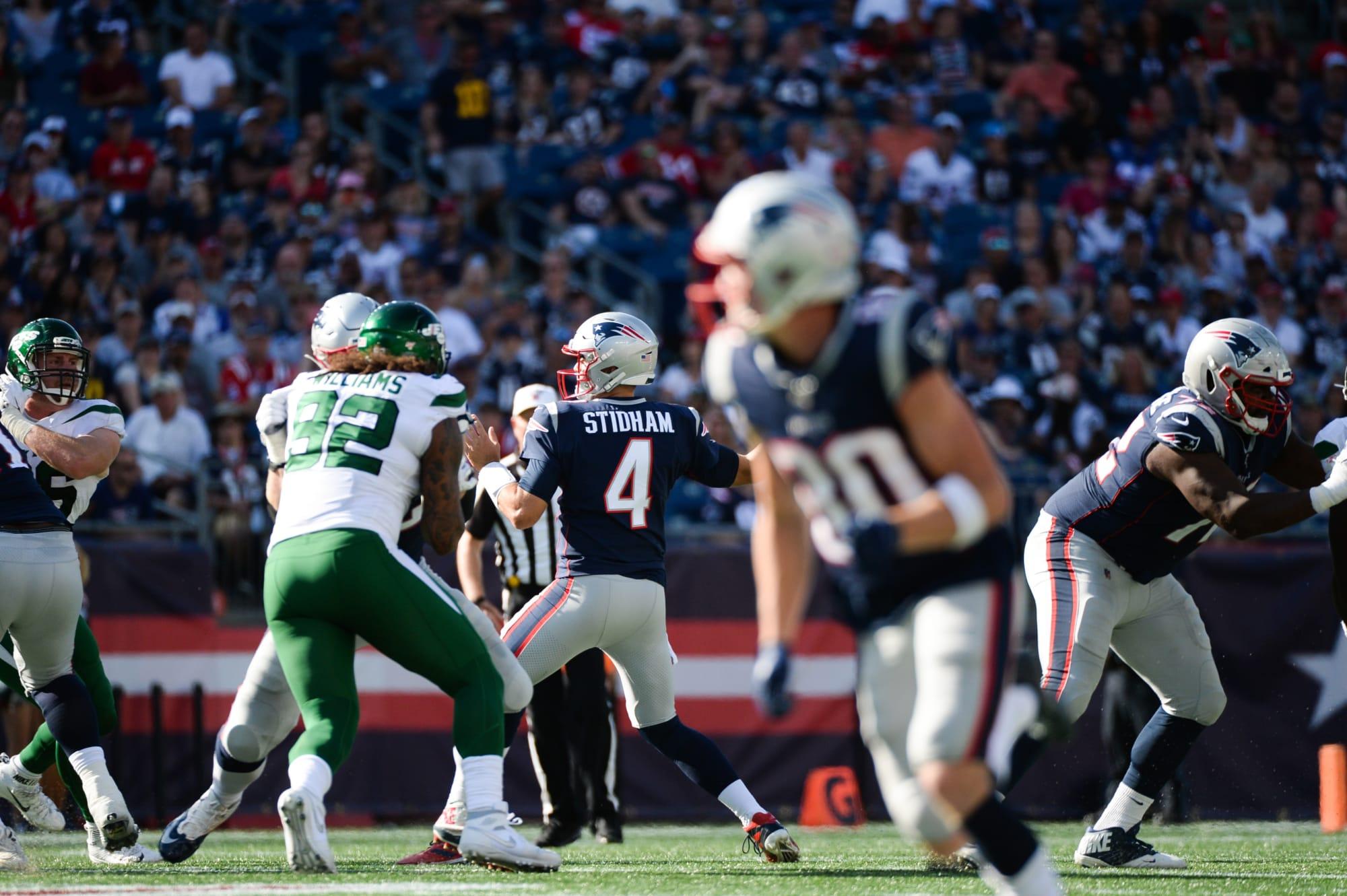 New England Patriots: Jarrett Stidham capable of leading a playoff run