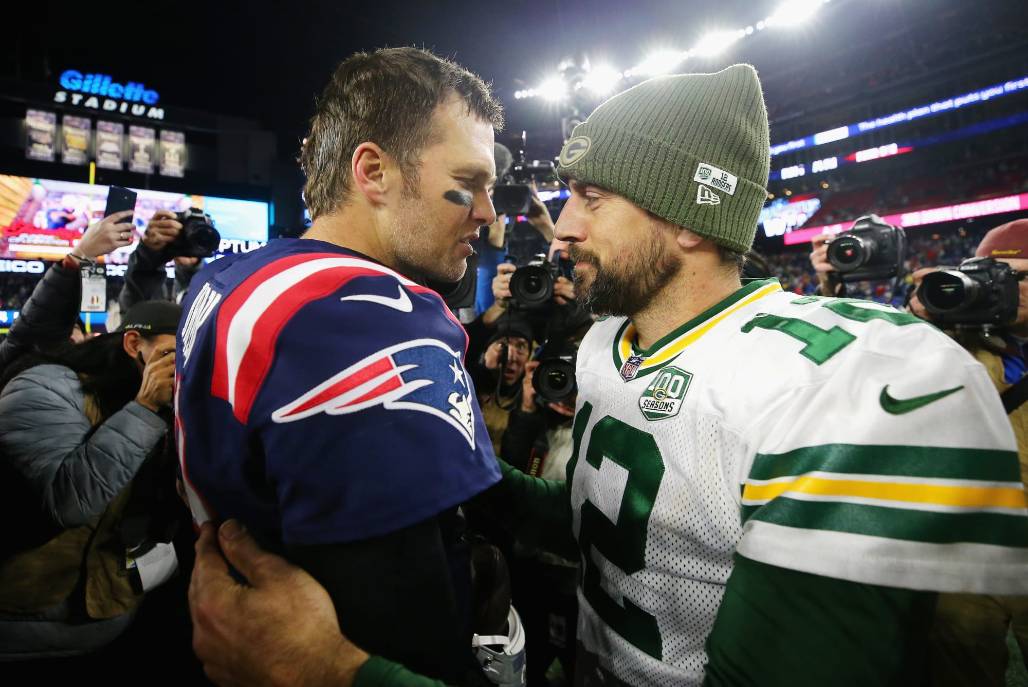 Patriots: Chris Simms has worst Tom Brady-Aaron Rodgers take imaginable