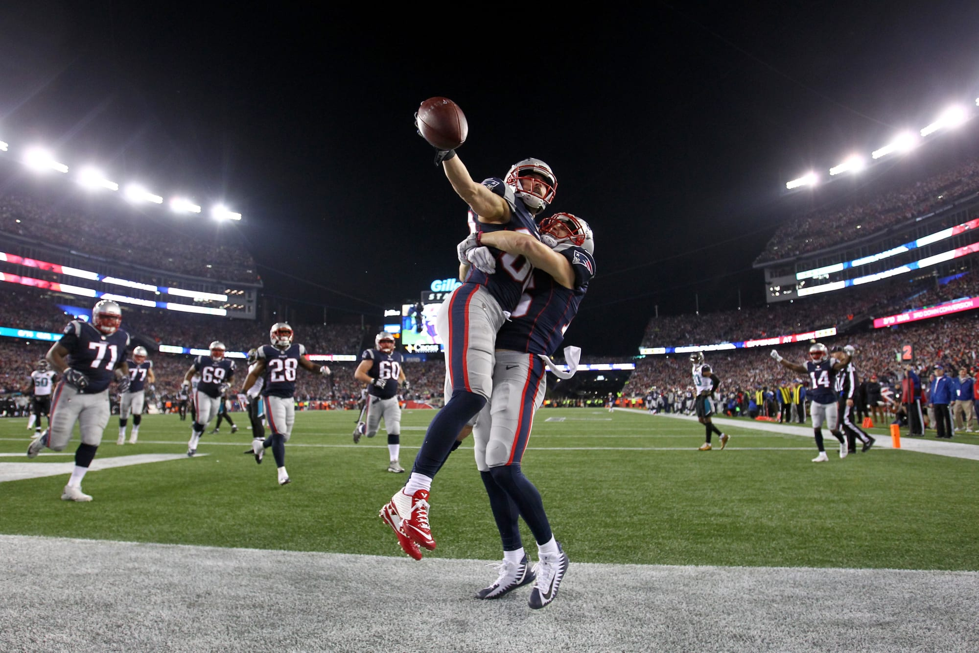 Patriots: Yes, Chris Hogan's lacrosse career is very real