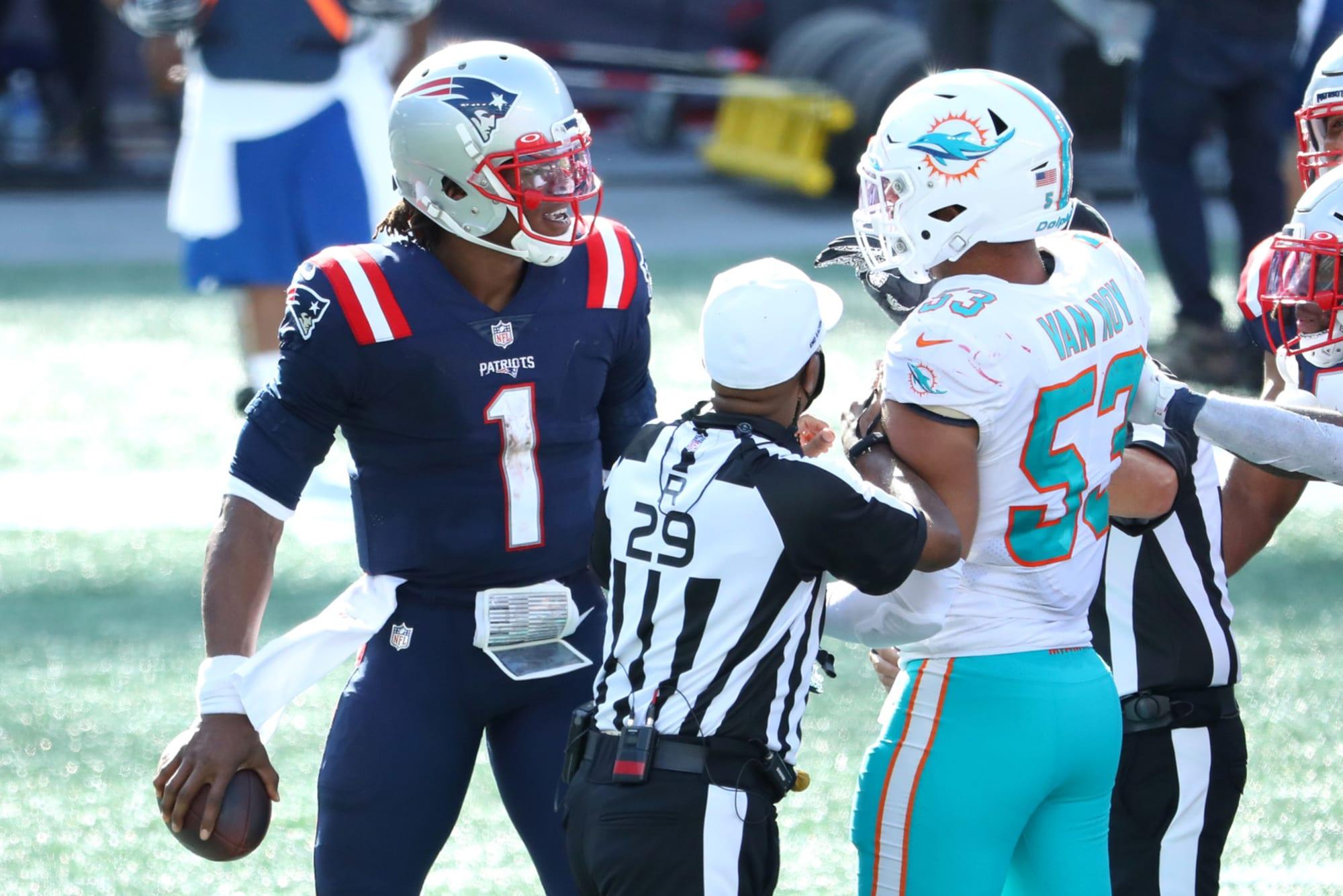 Semana 15 Patriots Dolphins
