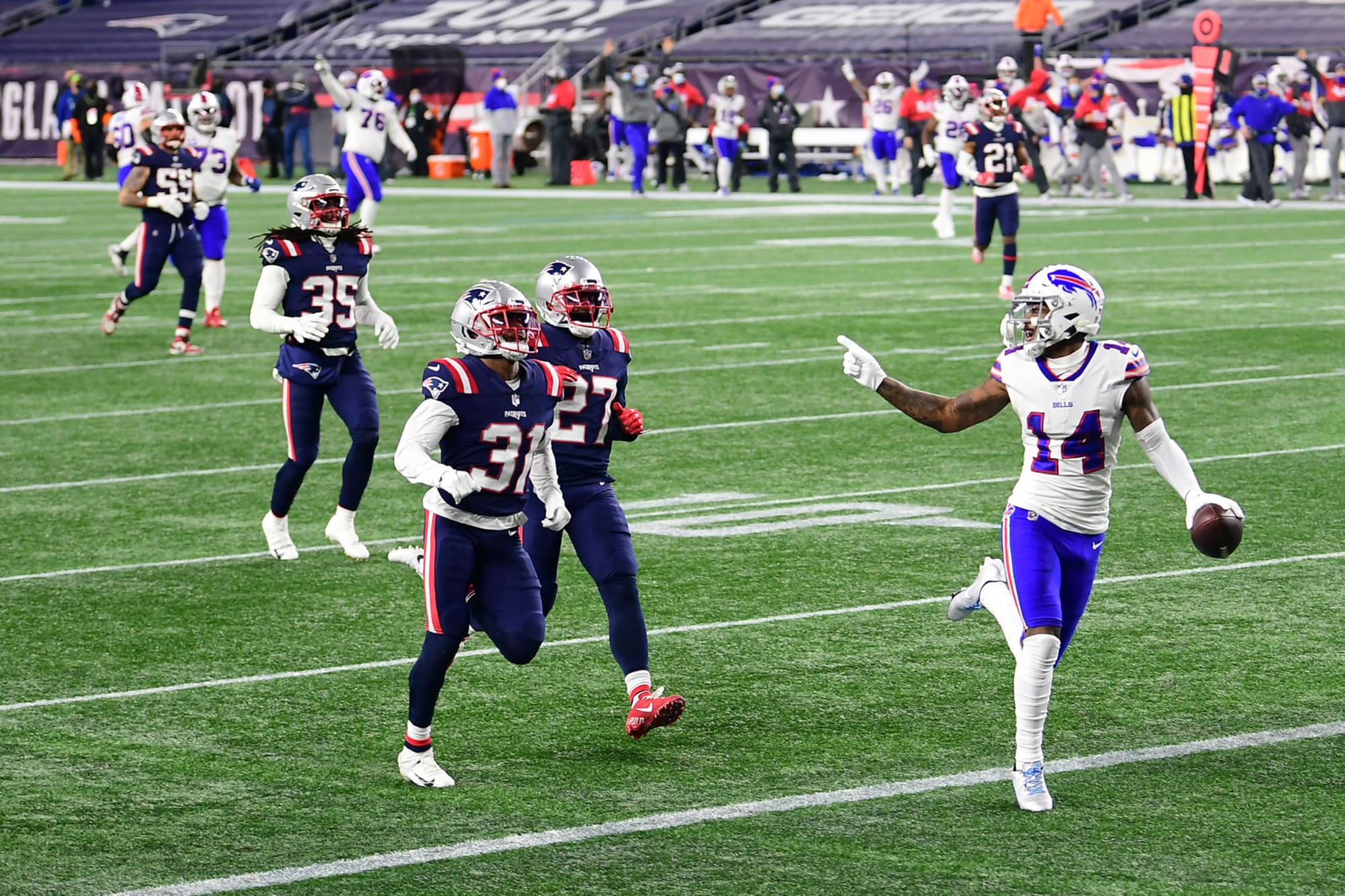 Bills beating Patriots in Stefon Diggs trade may have ended Tom Brady era