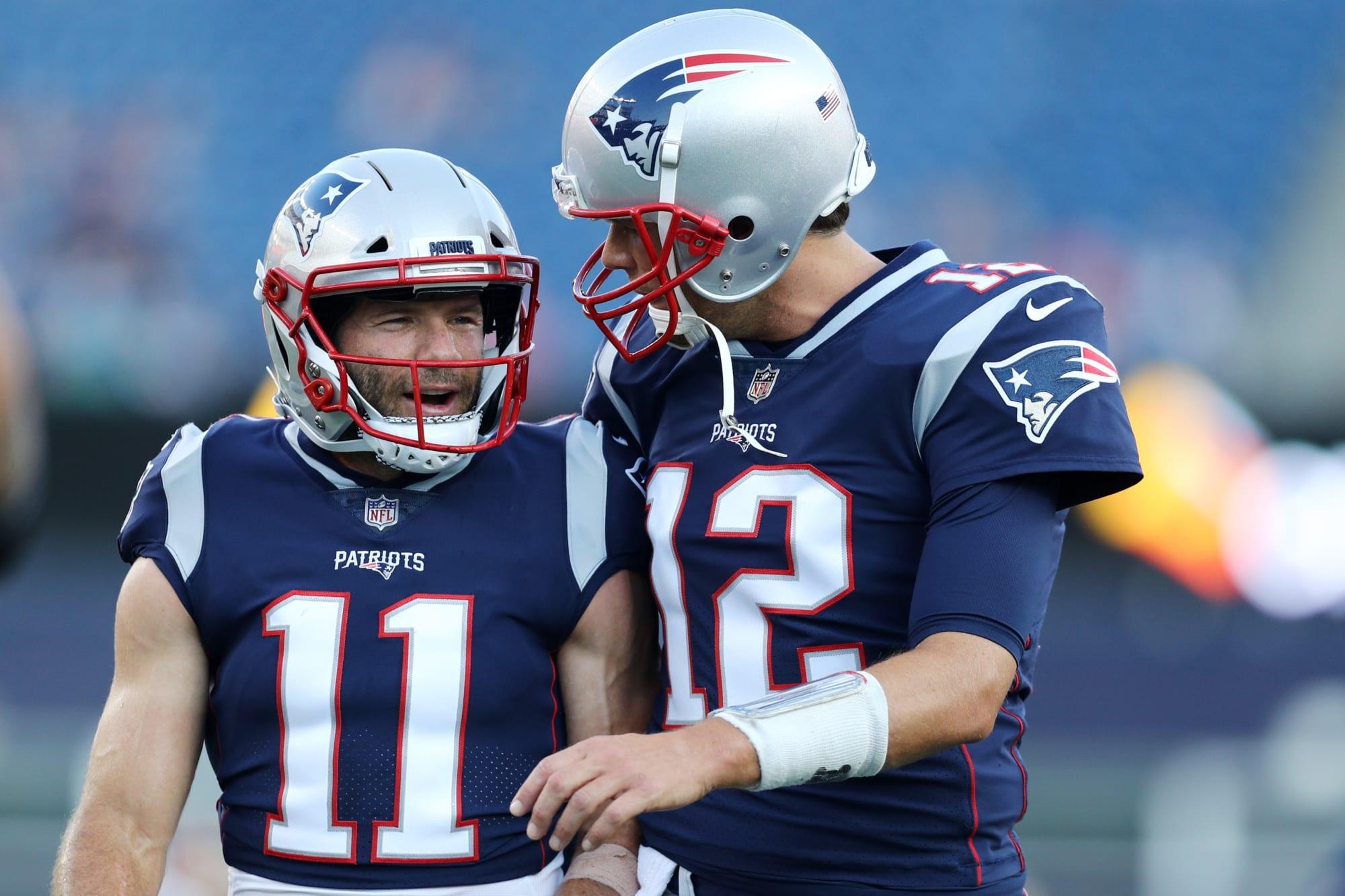 Patriots: Tom Brady has hilarious response to Julian Edelman's retirement