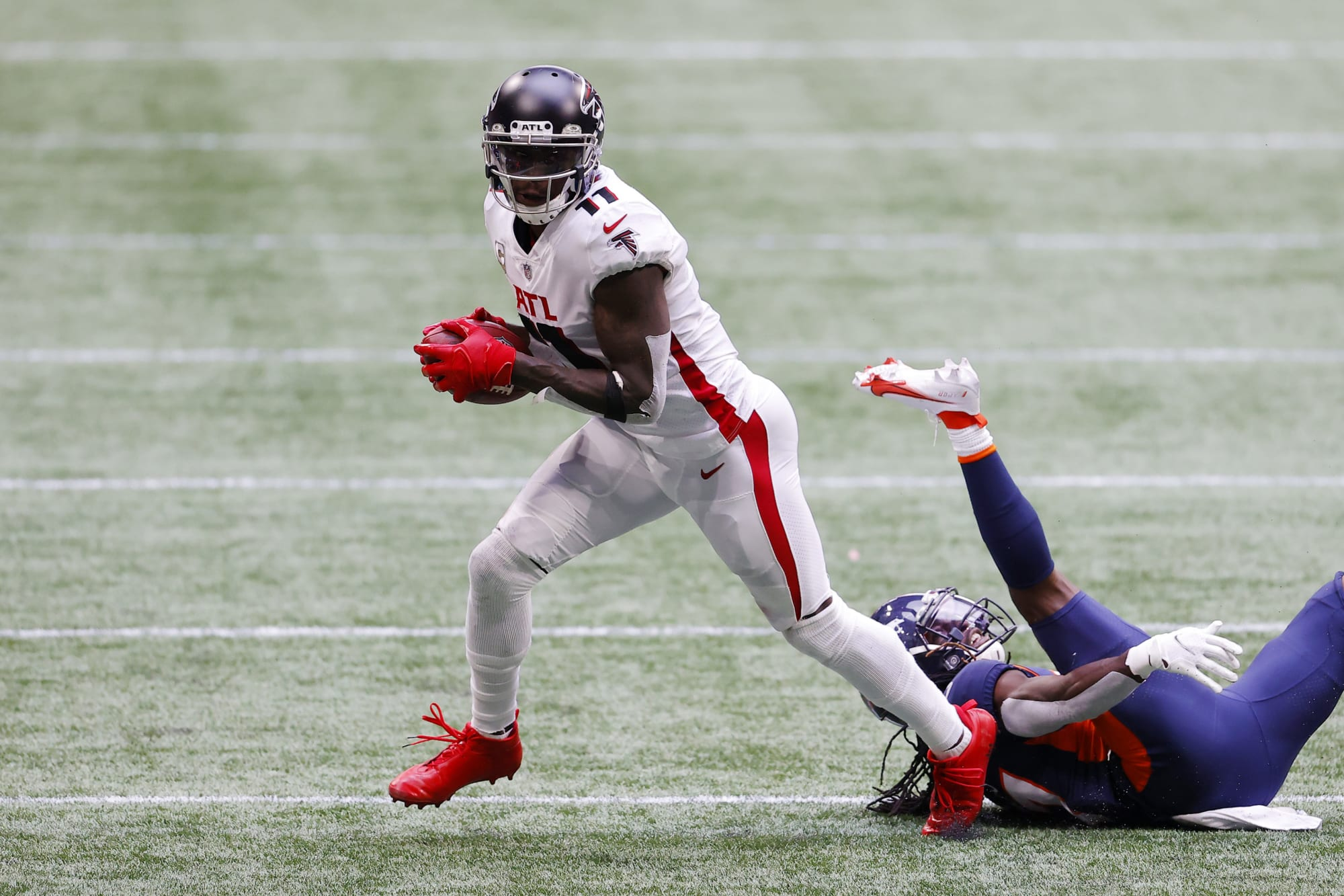 ESPN lists Patriots as potential trade destination for Julio Jones