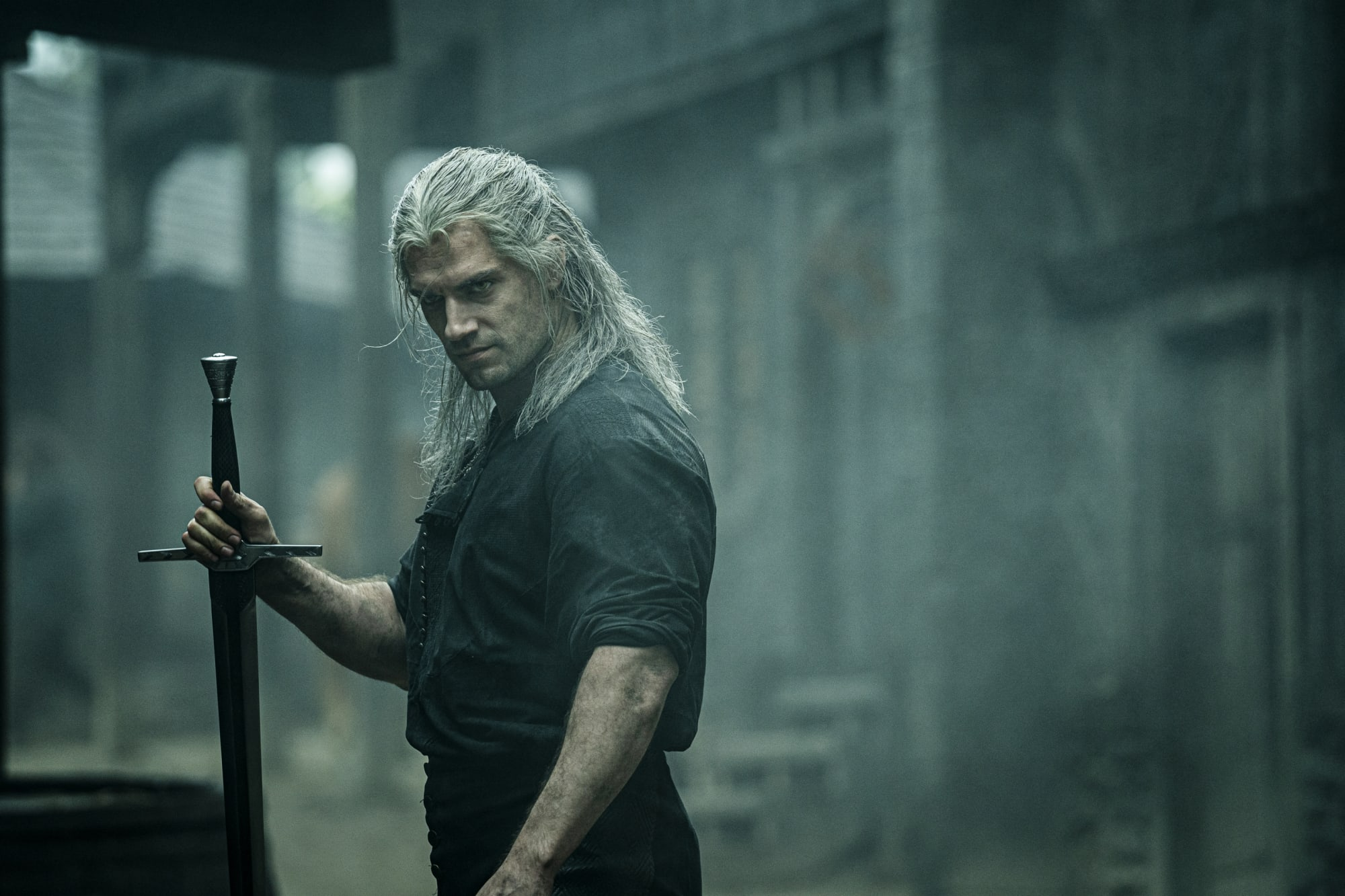Dress up as Geralt of Rivia from The Witcher in a DIY Halloween costume