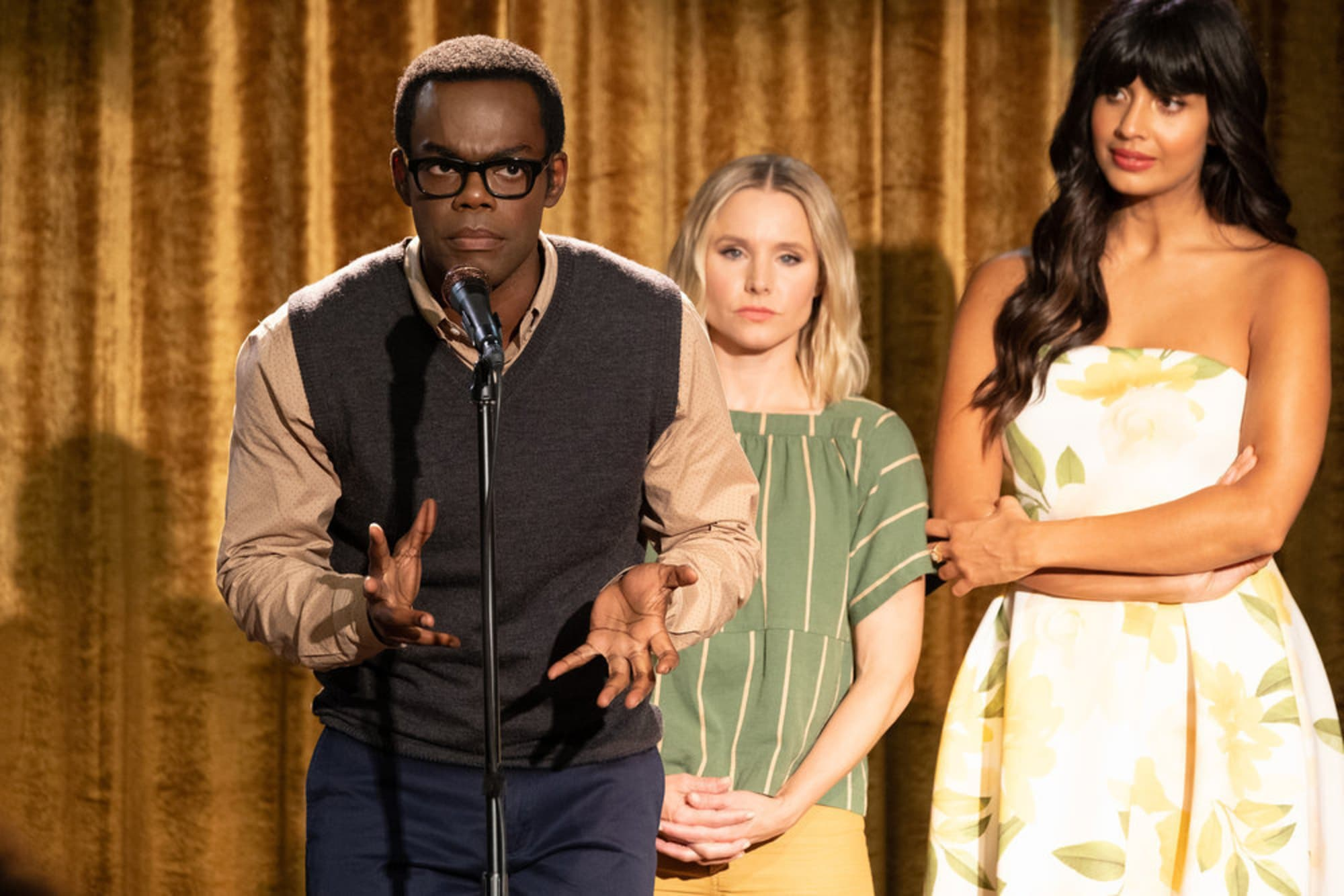 Why did The Good Place end after four seasons?