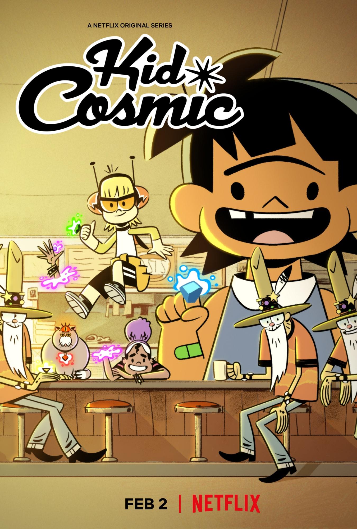 Kid Cosmic (2021) S02 Hindi English Animation WEB Series || 480p, 720p Zip File