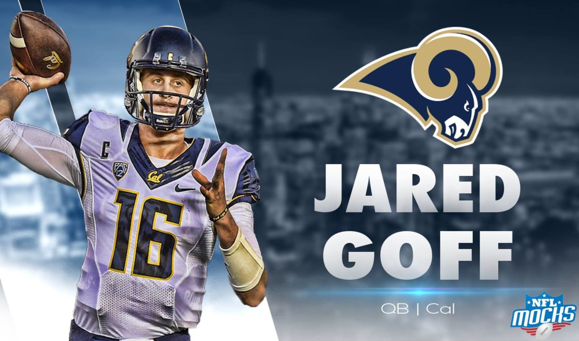 Los Angeles Rams Select Jared Goff With 1st Overall Pick