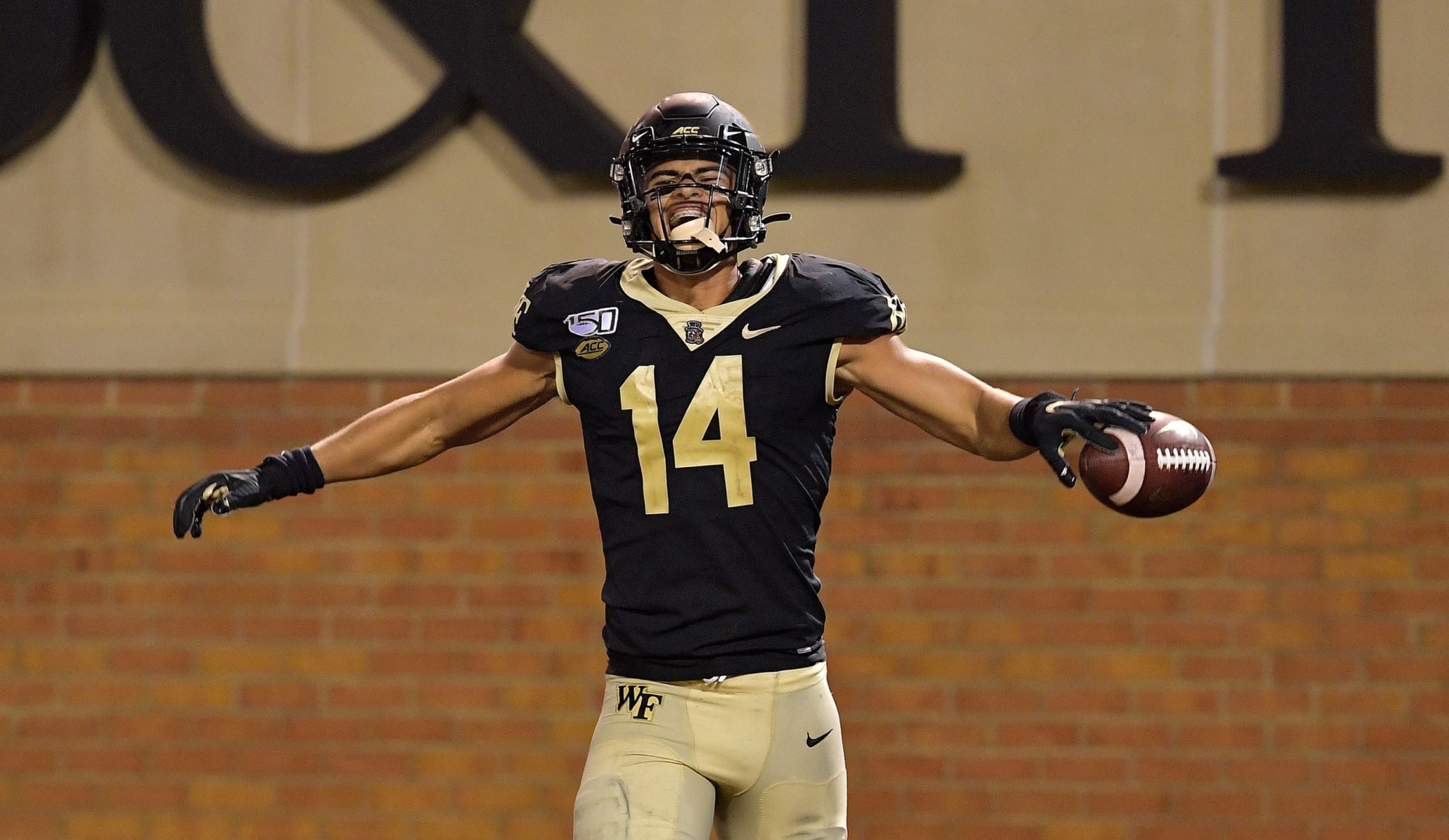 Wake Forest WR Sage Surratt opts out, declares for 2021 NFL Draft