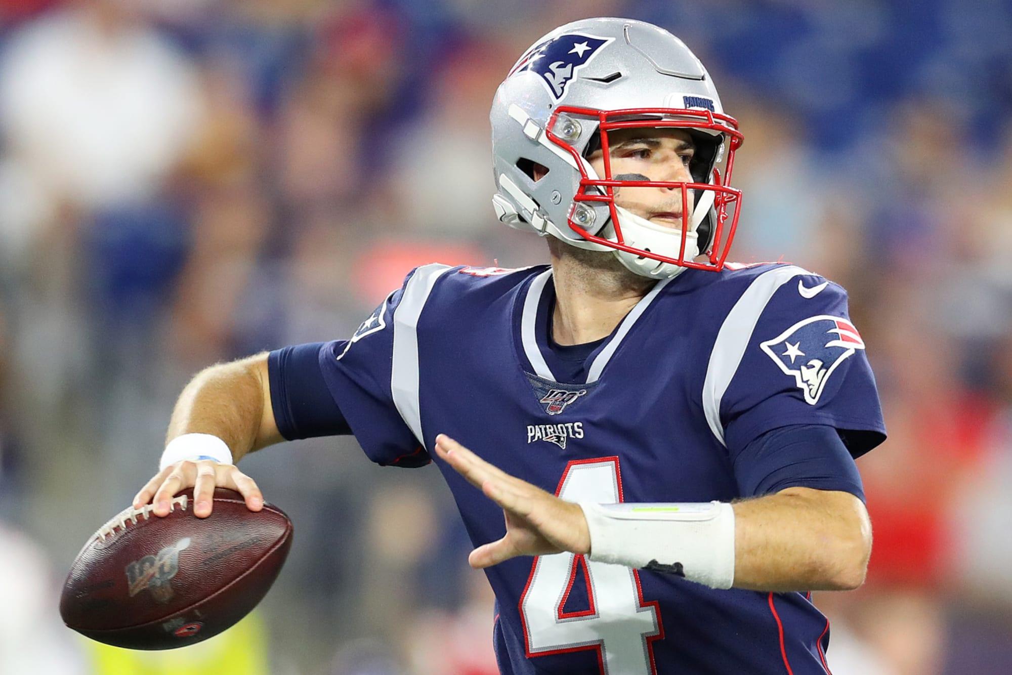 New England Patriots Jarrett Stidham Takes Brian Hoyer S Job
