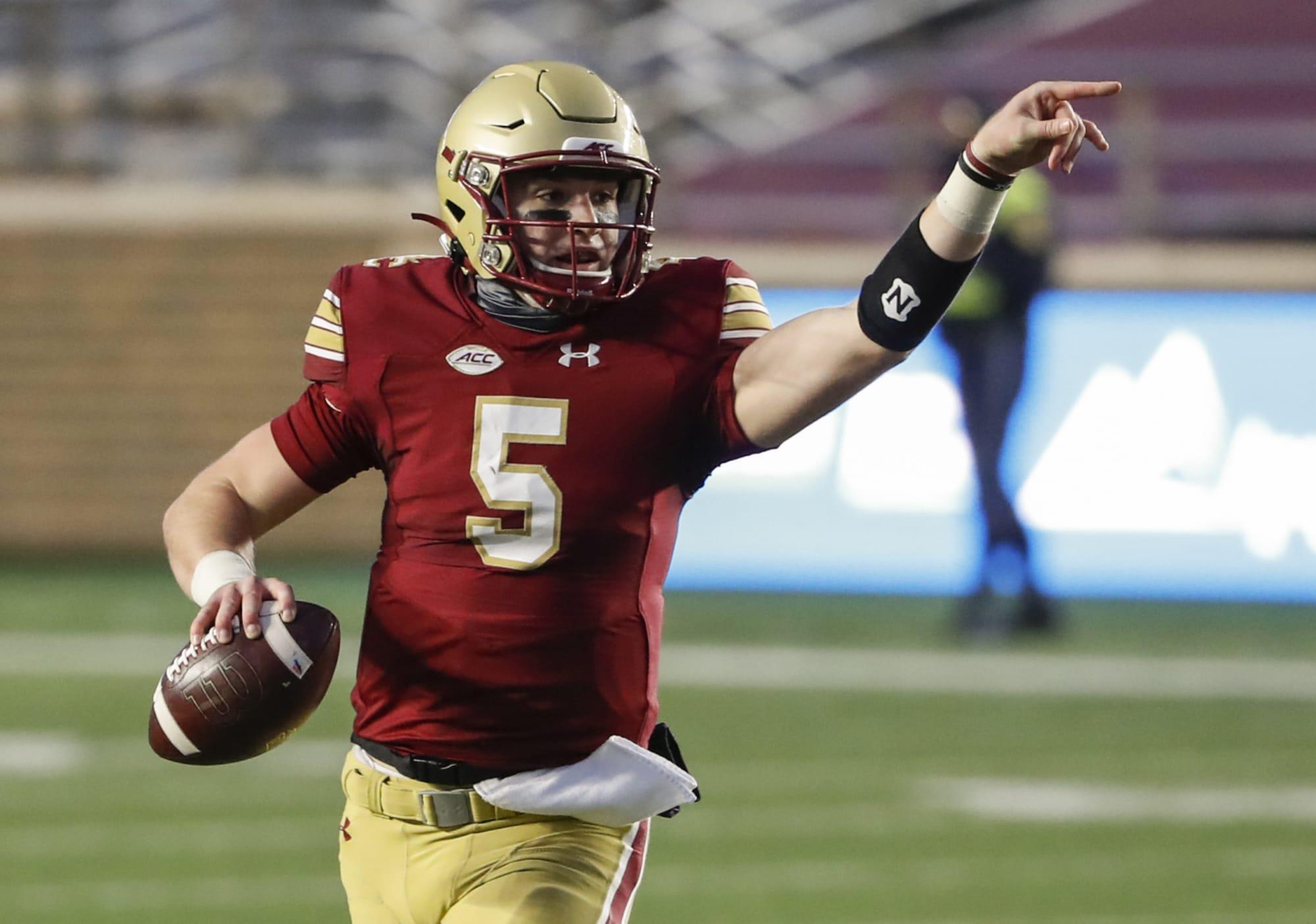 2022 NFL Draft: Don't sleep on Boston College QB Phil Jurkovec