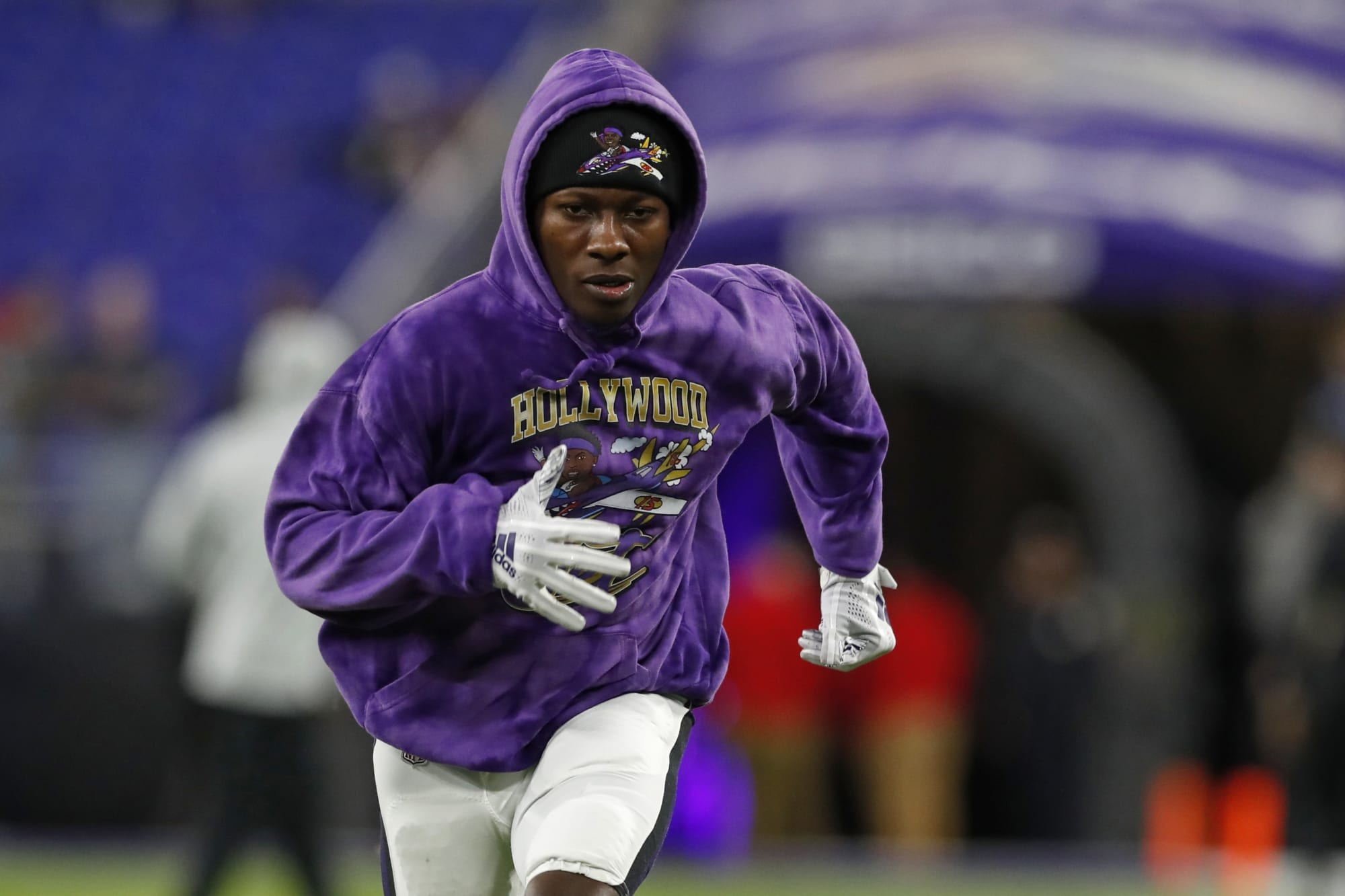 Marquise Brown checking the boxes for breakout second year with Ravens