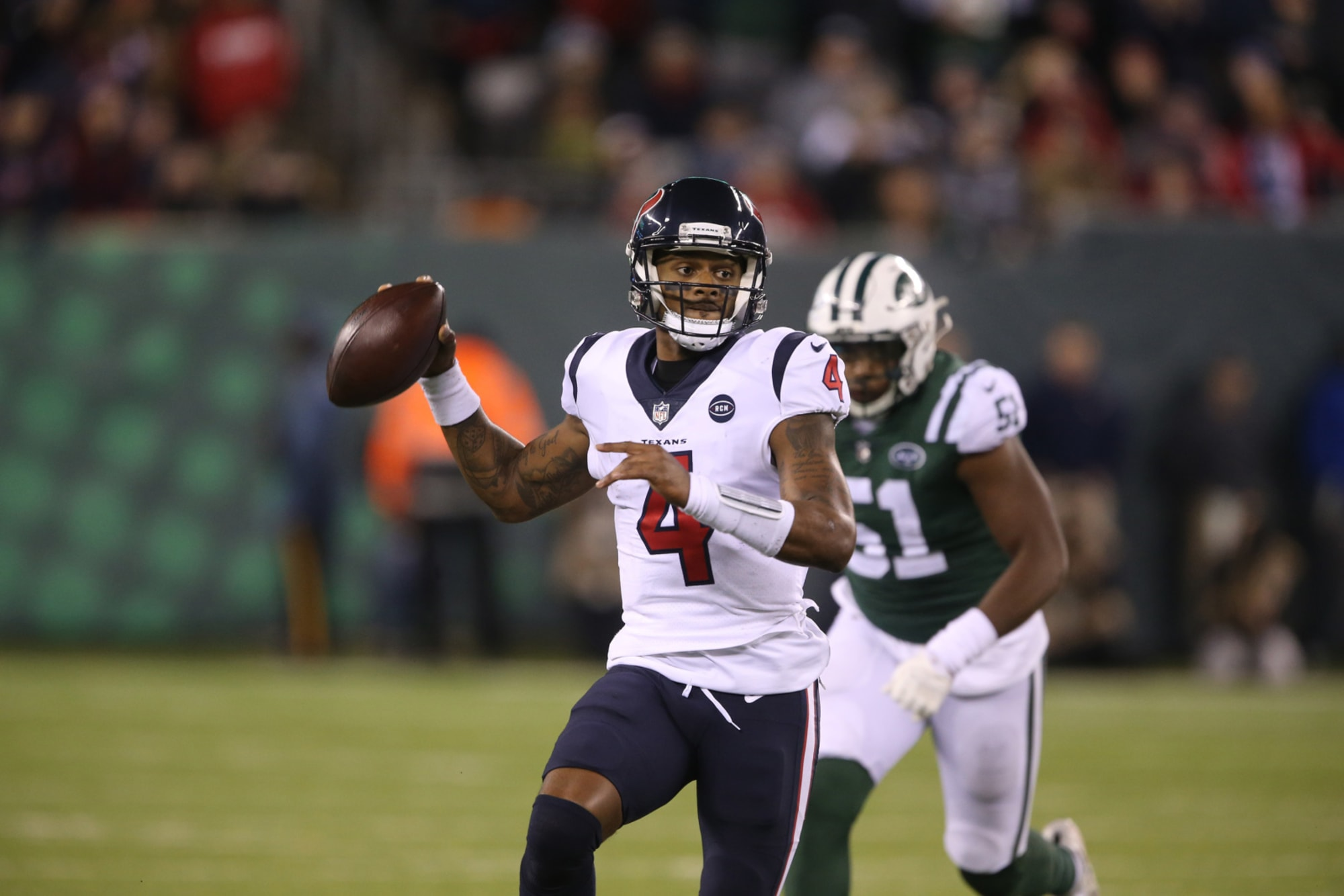 Deshaun Watson would turn Jets into immediate Super Bowl contender