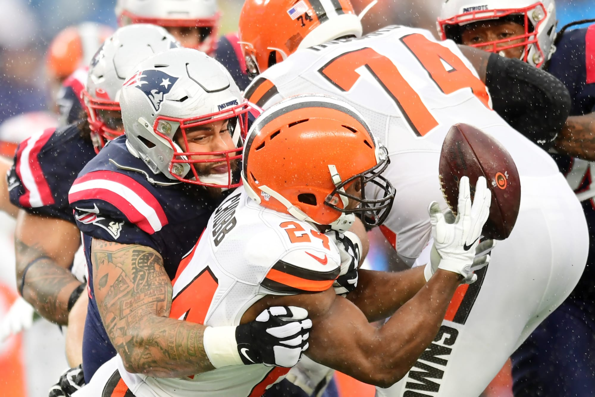 Cleveland Browns: Studs and duds vs. Patriots in Week 8