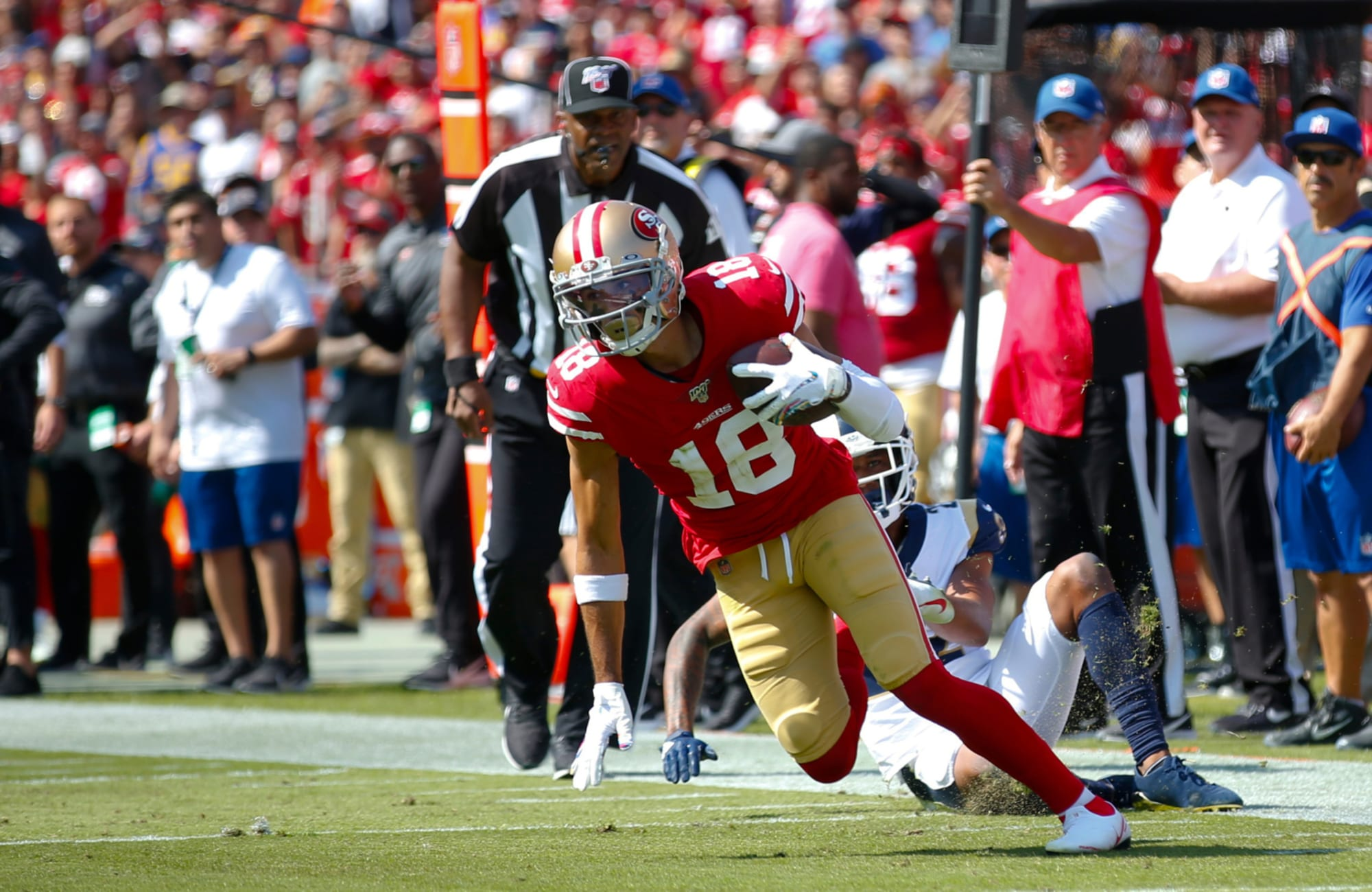It's time for SF 49ers to part ways with Dante Pettis