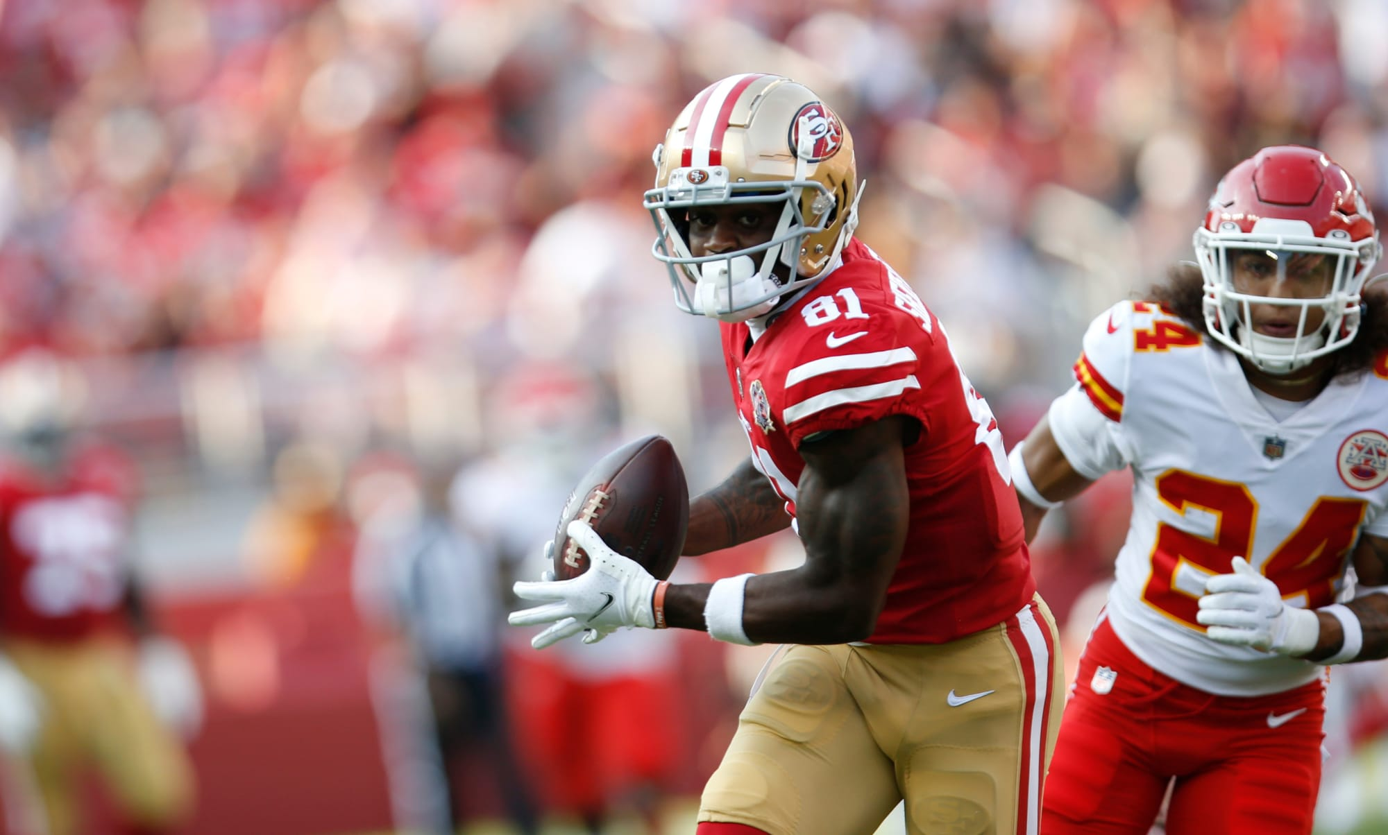 Trent Sherfield must do one more thing to be 49ers 3rd receiver - Niner Noise