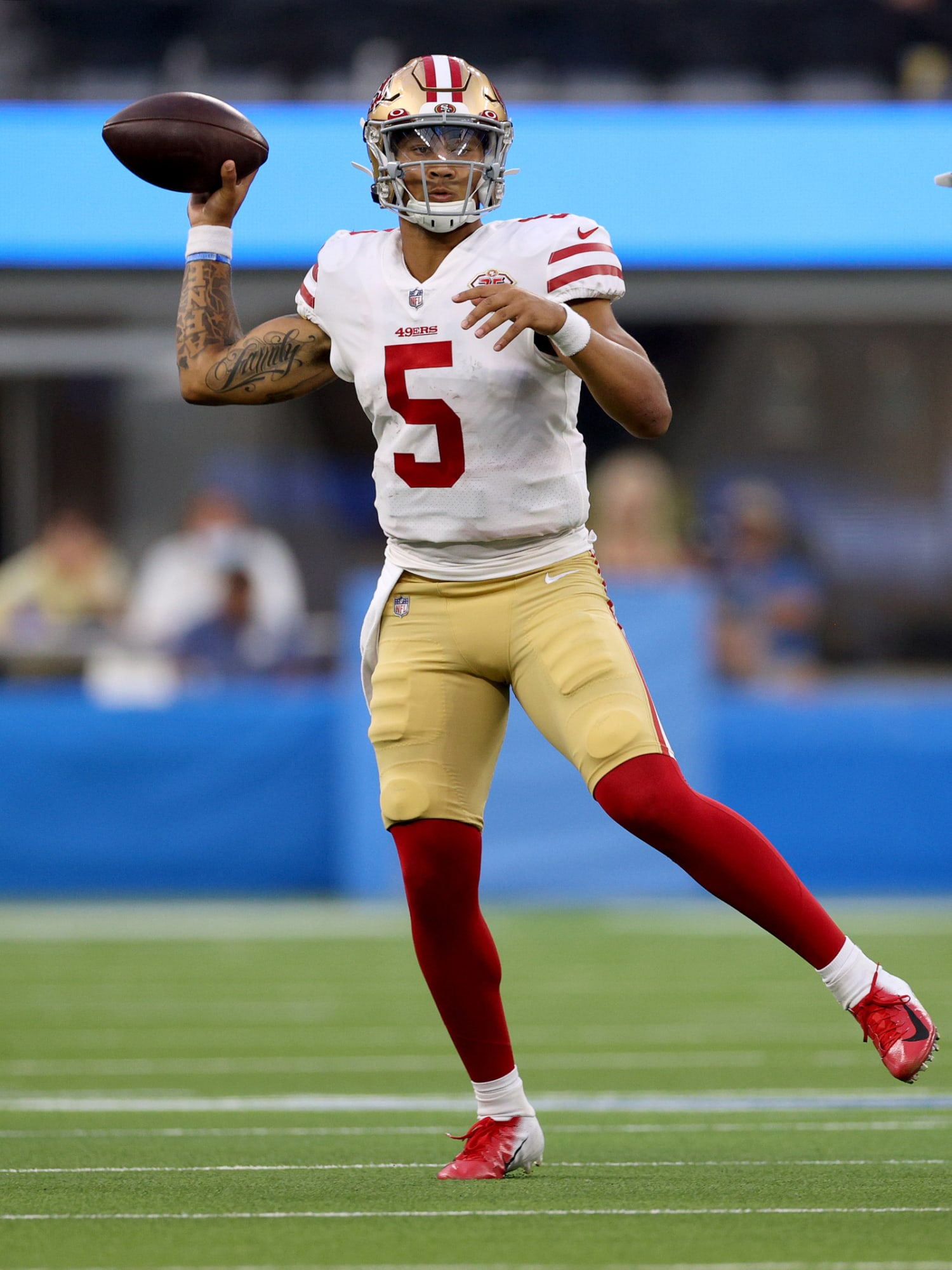 Trey Lance: PFF has eye-popping stats for 49ers rookie quarterback - Niner Noise