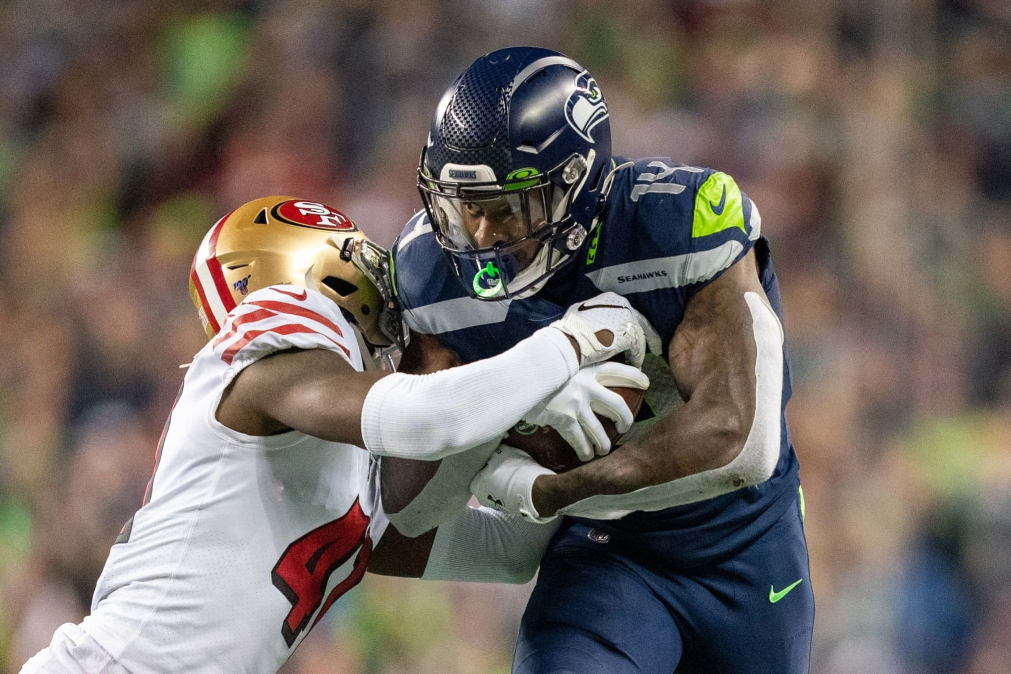 Sf 49ers How Defense Contains Seahawks Wr D K Metcalf