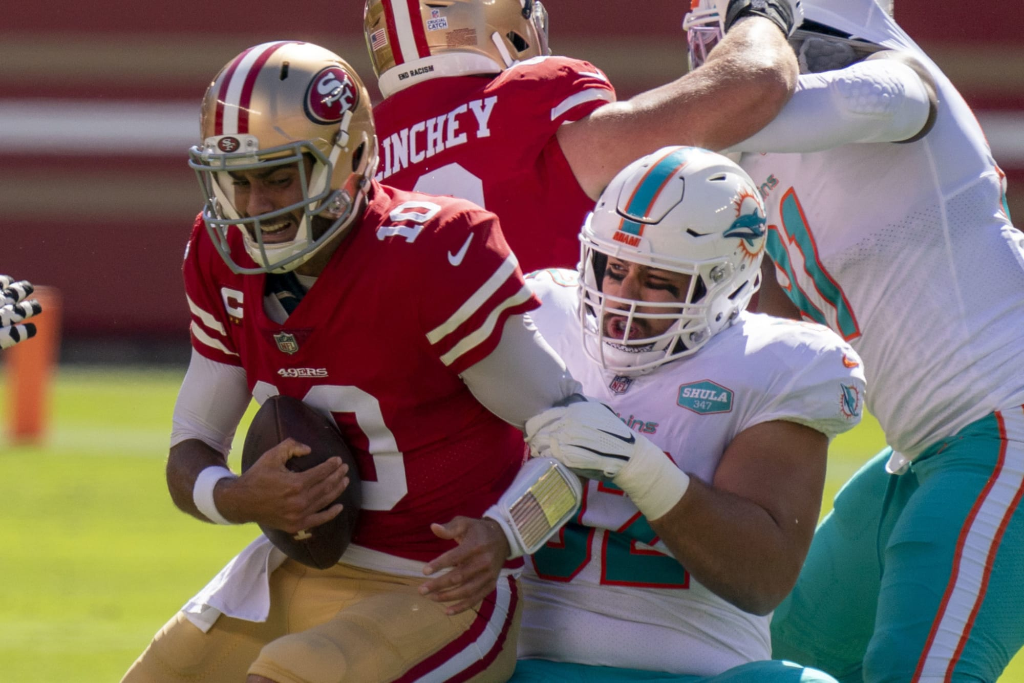4 SF 49ers players already fighting for their futures this season