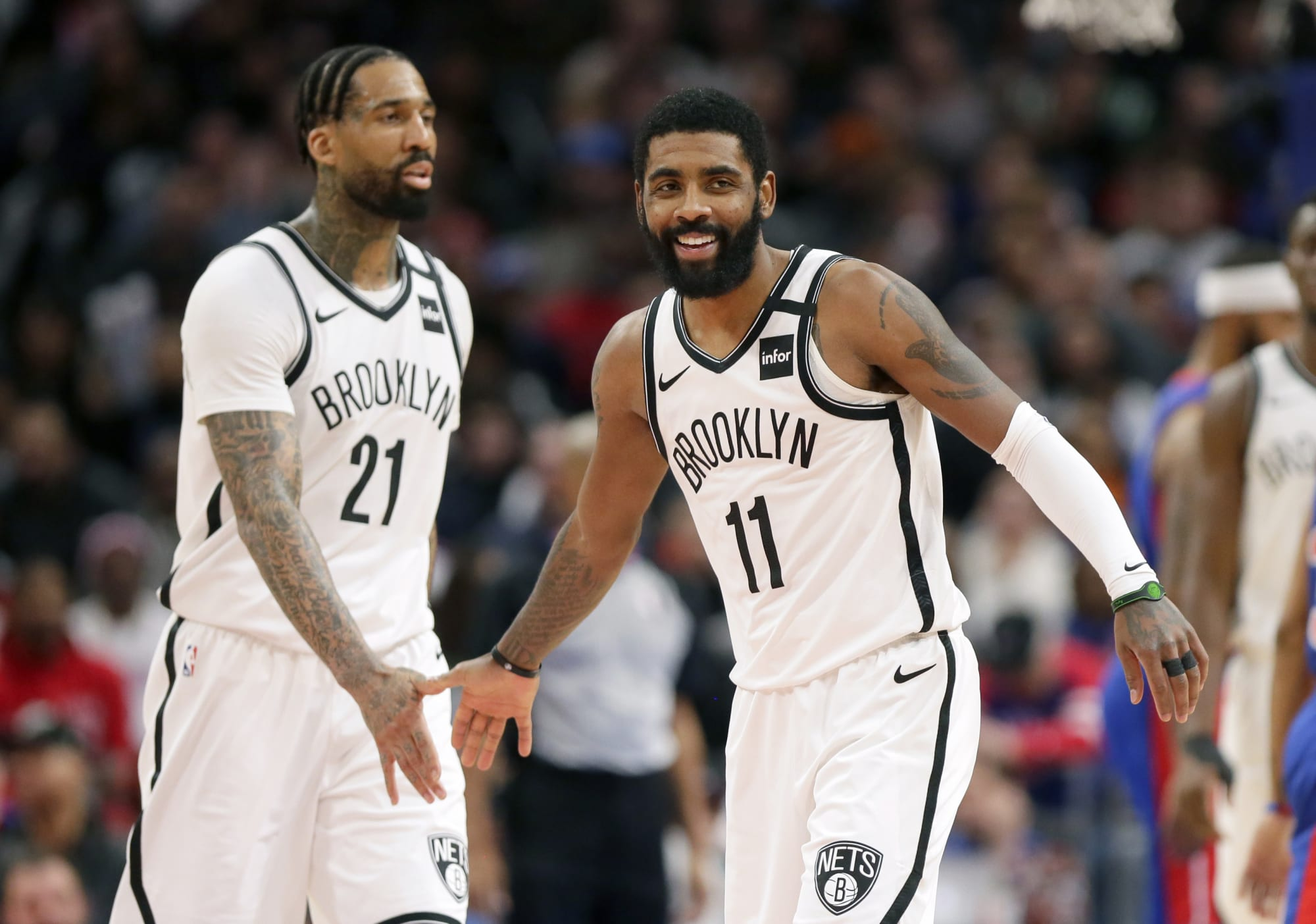 Nets News: Kyrie Irving Gets Support From Wilson Chandler
