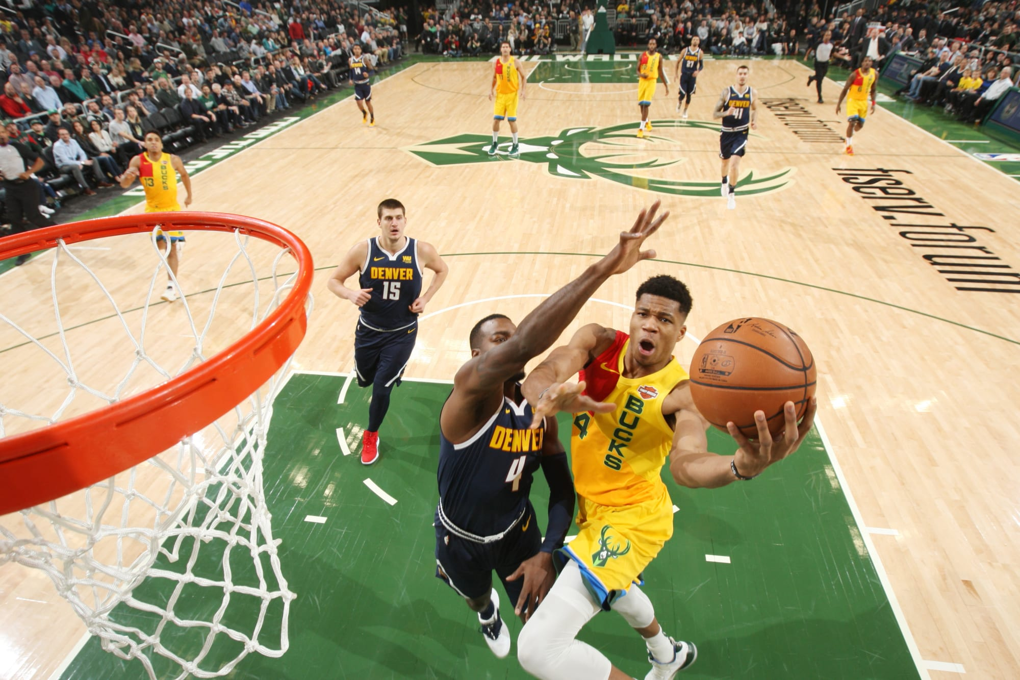 Could the Nuggets have a chance at Giannis?