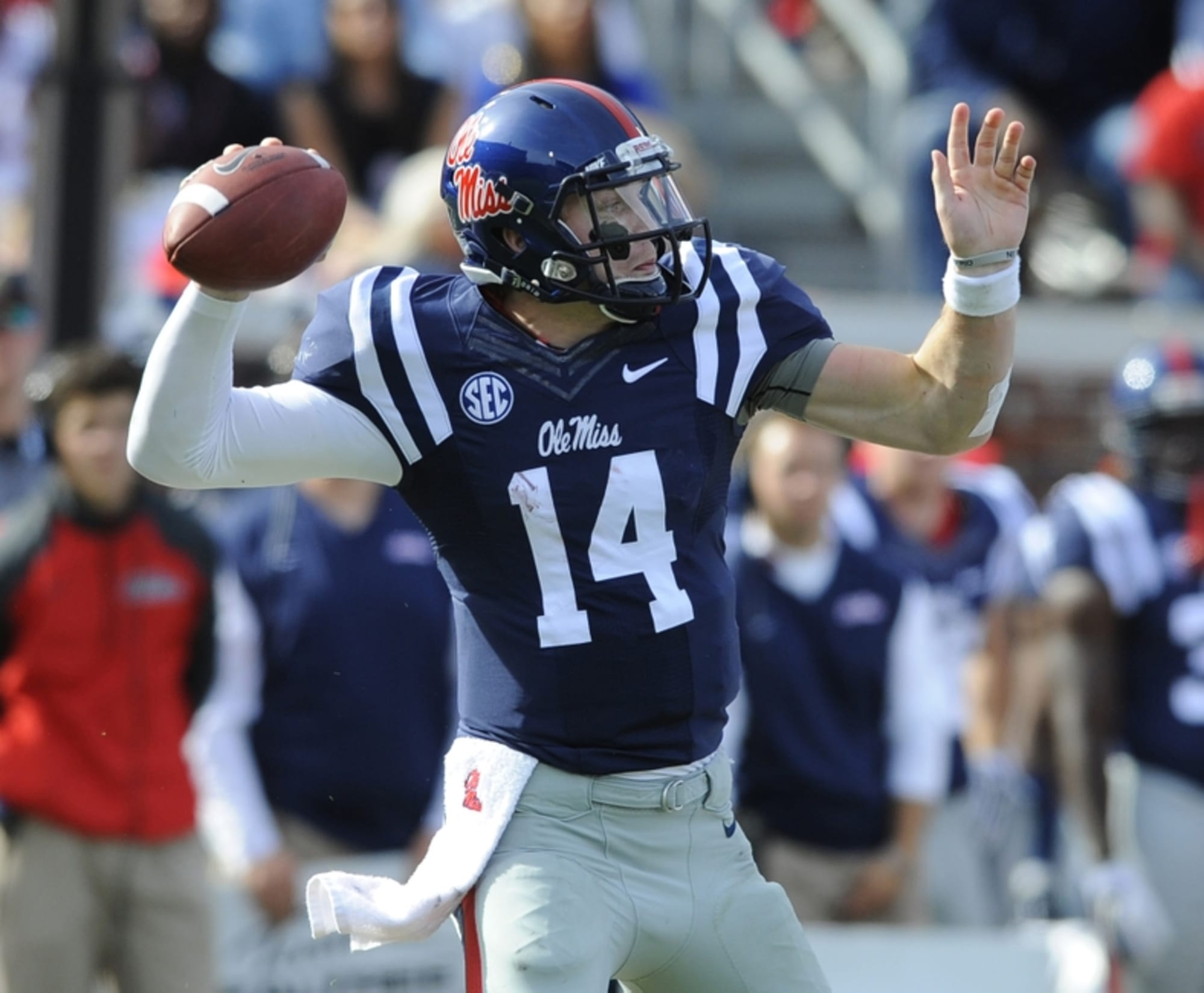 Ranking The Ole Miss Football Uniforms