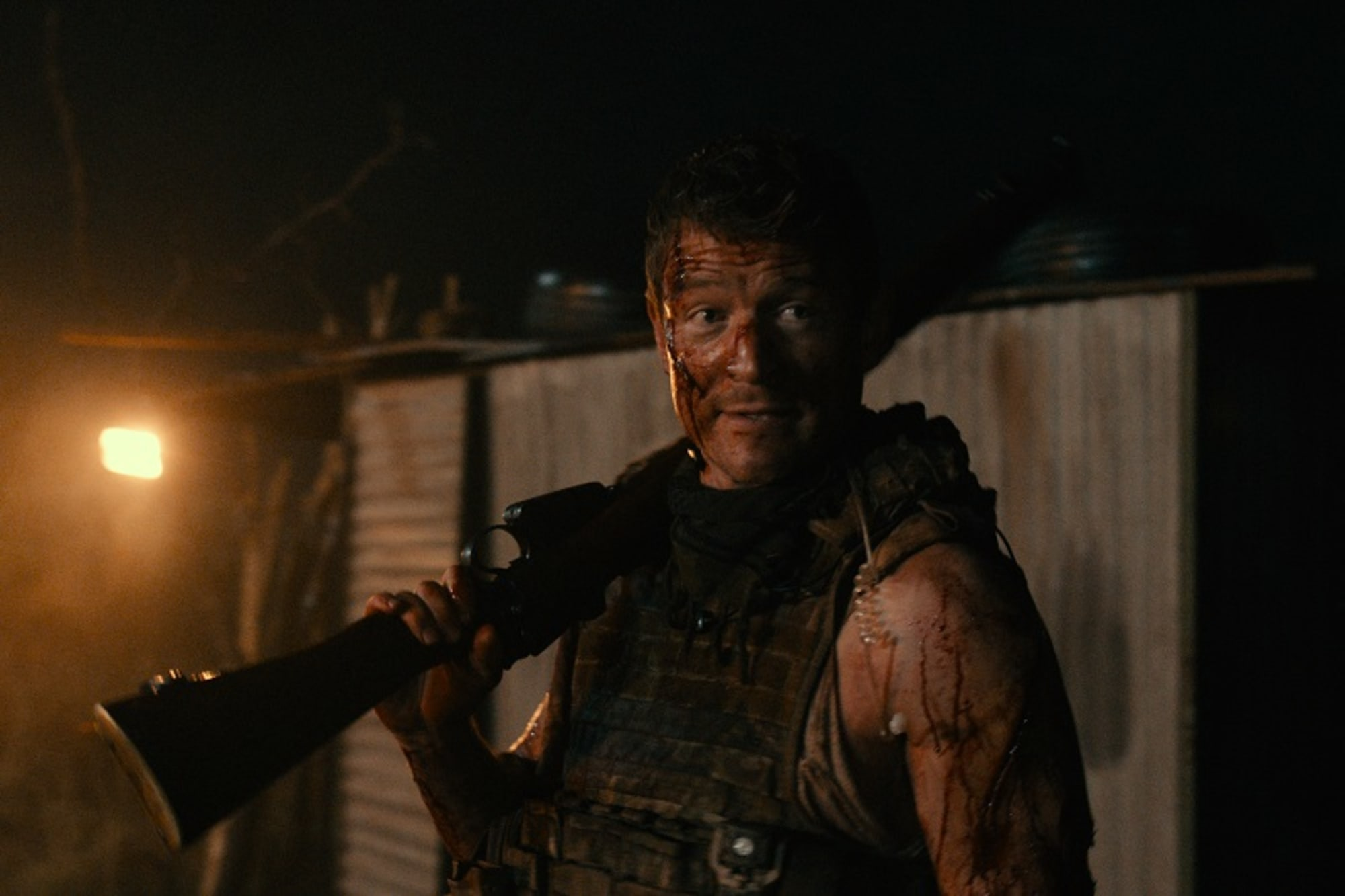 Rogue movie trailer has Chicago Justice's Philip Winchester fighting lions