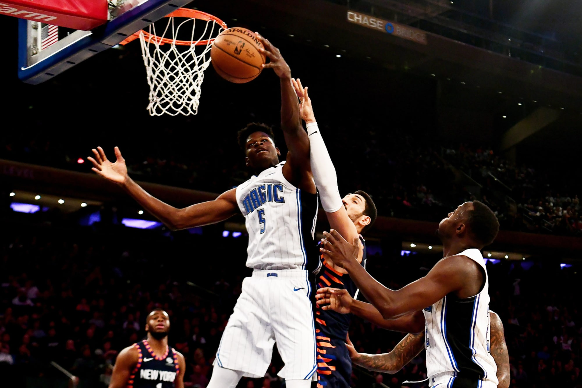Orlando Magic center Mohamed Bamba apparently has not wasted his hiatus