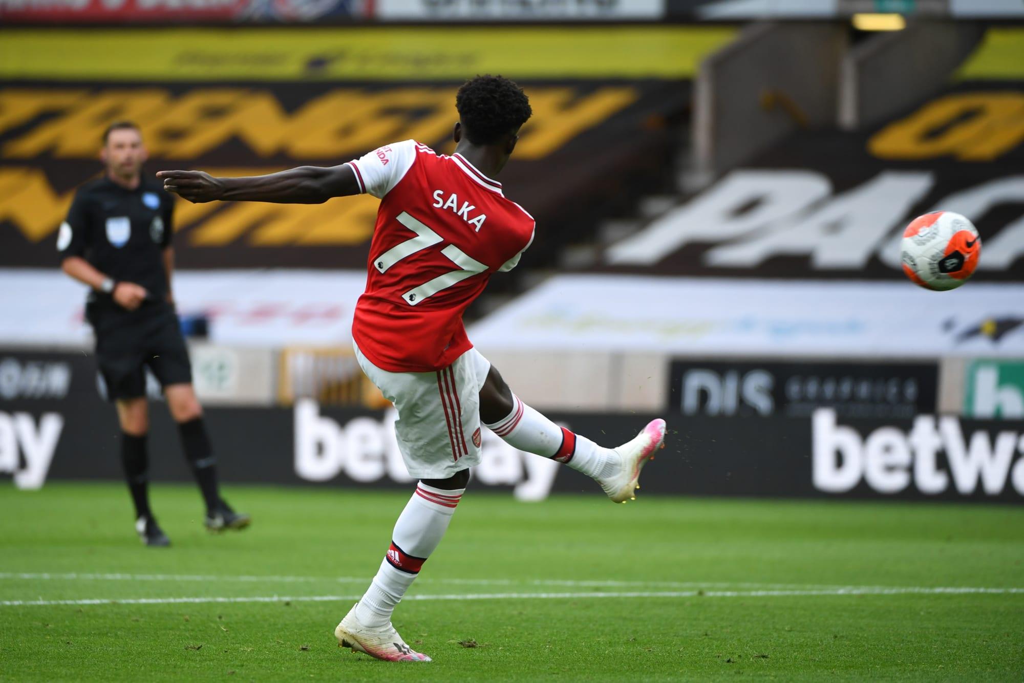 Arsenal: Where is Bukayo Saka's best position?