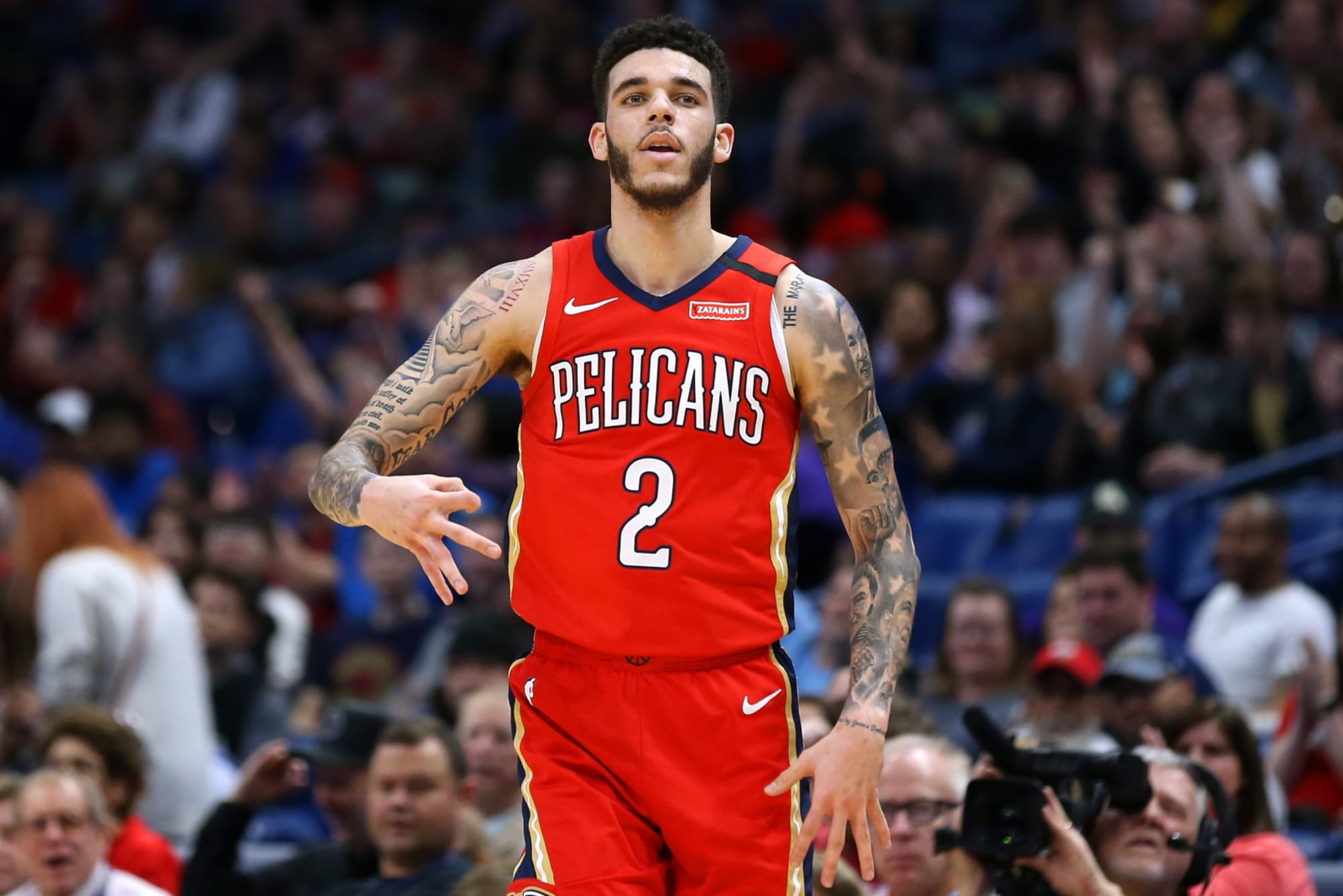 New Orleans Pelicans Playing Lonzo Ball Off Ball Will Open Up The Offense